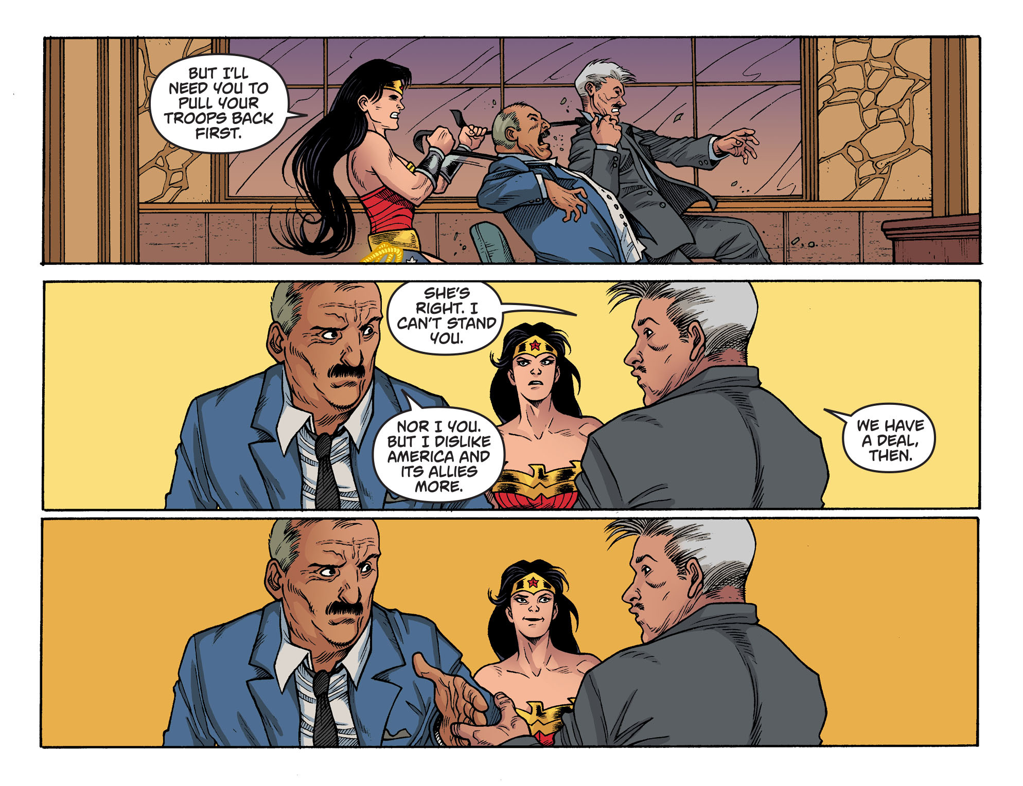 Read online Sensation Comics Featuring Wonder Woman comic -  Issue #44 - 19