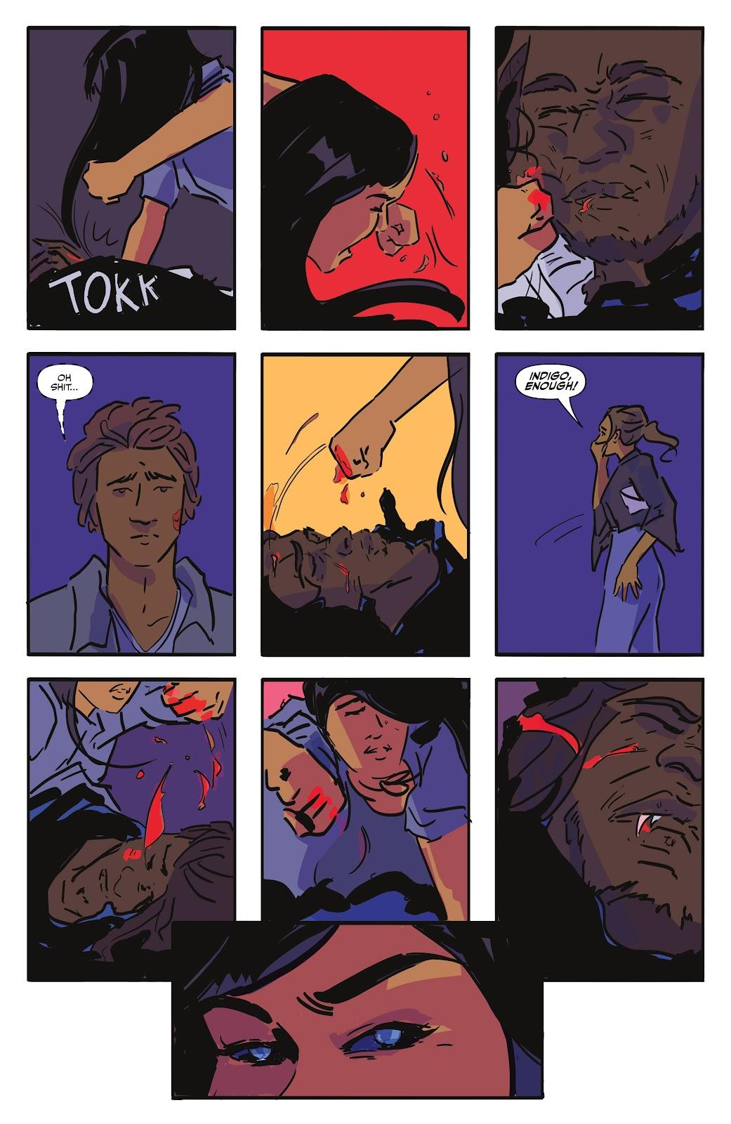 Read online Black (AF): Devil's Dye comic -  Issue #2 - 17