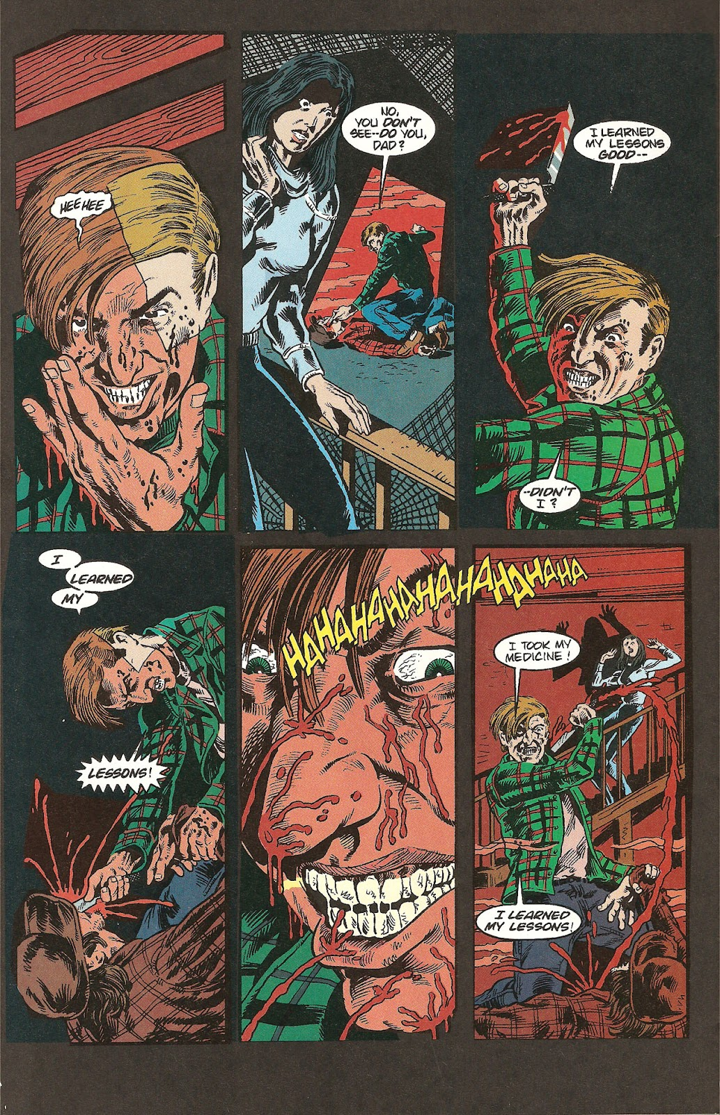Read online A Nightmare on Elm Street: The Beginning comic -  Issue #1 - 20