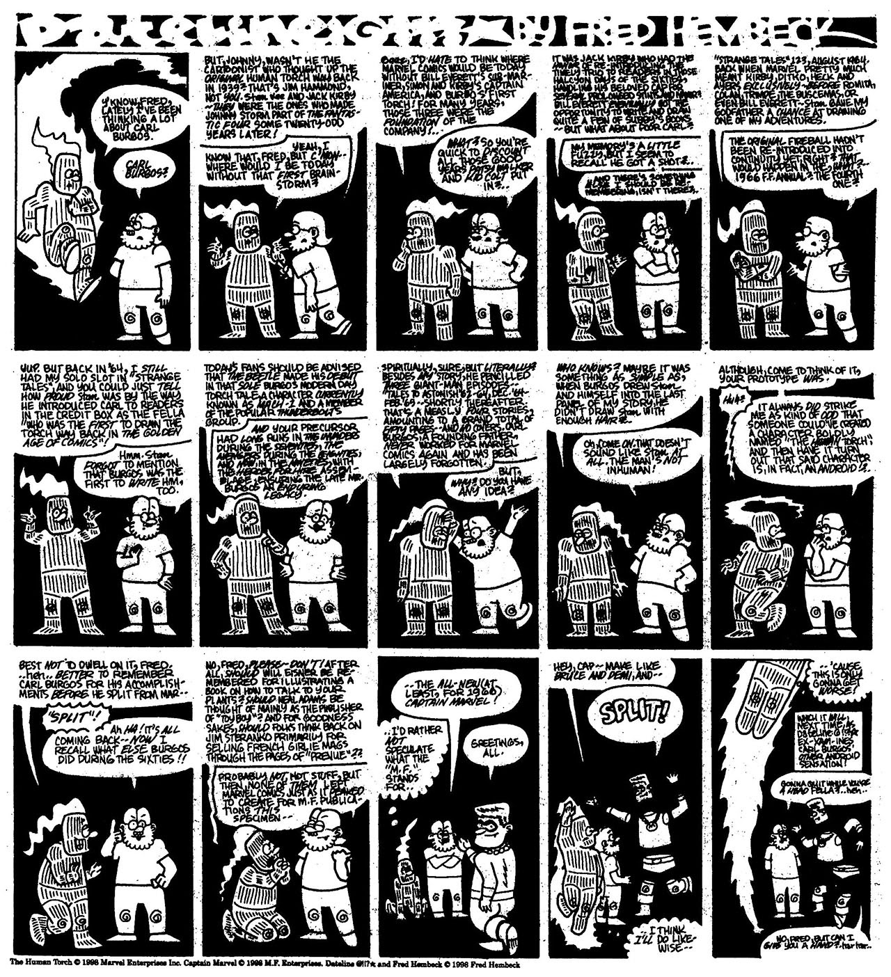 Read online The Nearly Complete Essential Hembeck Archives Omnibus comic -  Issue # TPB (Part 7) - 74