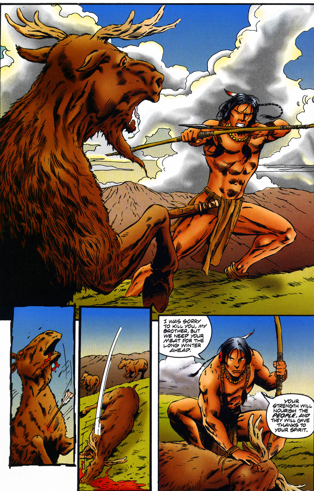 Read online Turok, Dinosaur Hunter (1993) comic -  Issue #43 - 8