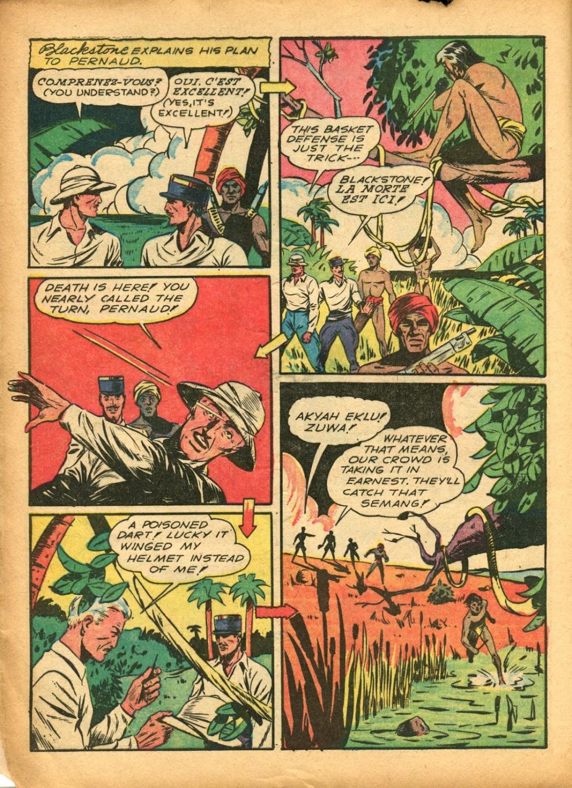 Read online Super-Magician Comics comic -  Issue #5 - 14