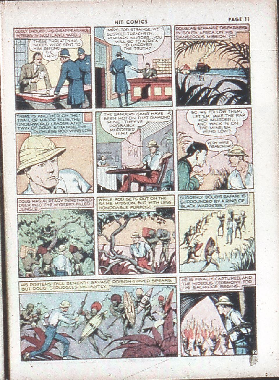 Read online Hit Comics comic -  Issue #7 - 13