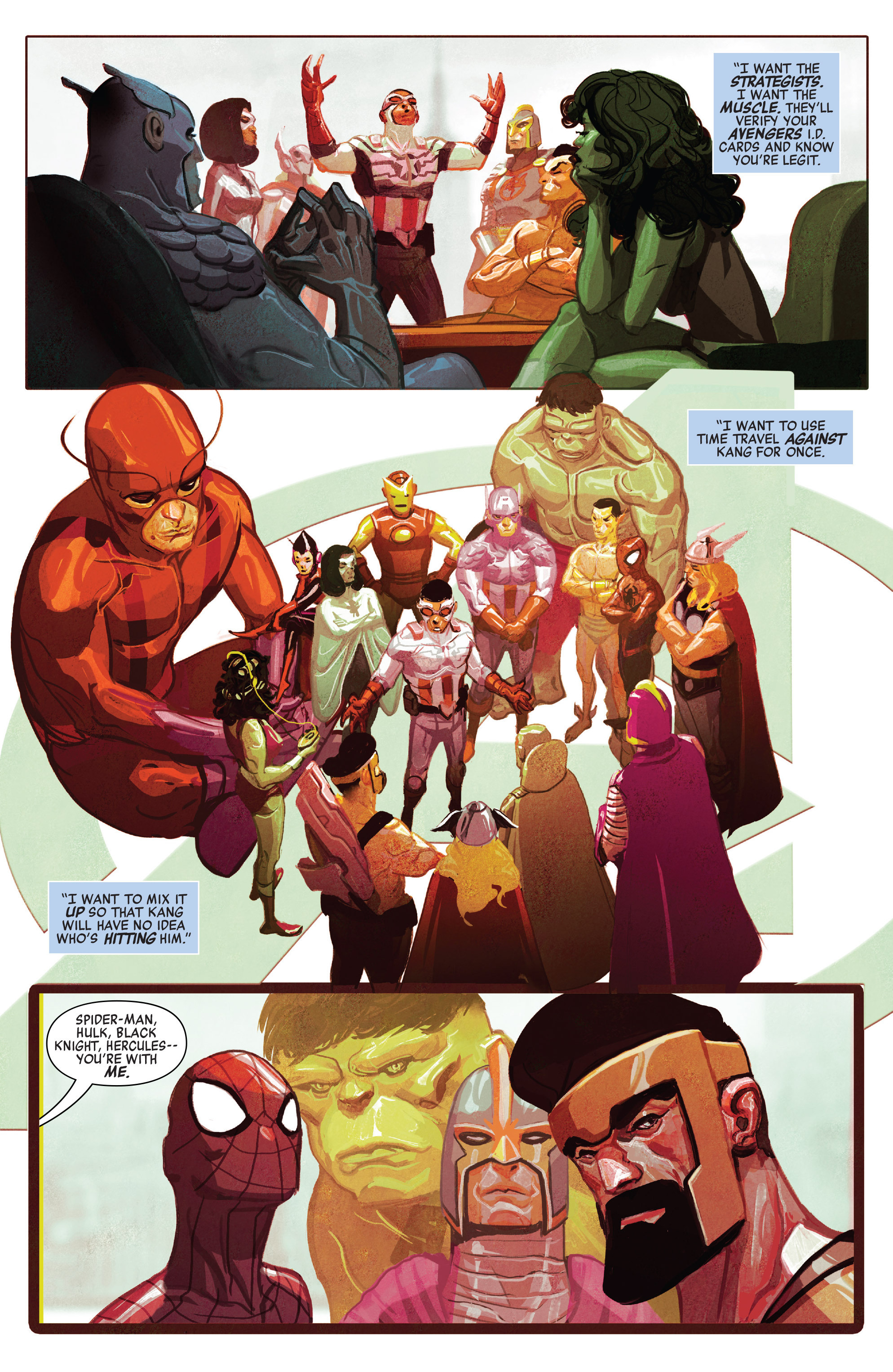 Read online Avengers (2016) comic -  Issue #5 - 10