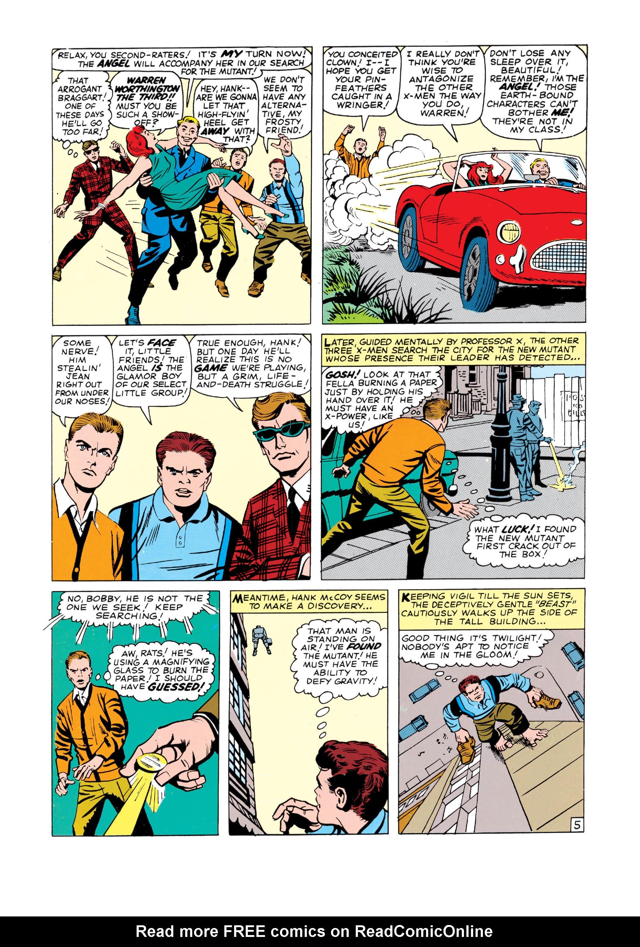 Read online Uncanny X-Men (1963) comic -  Issue #3 - 6