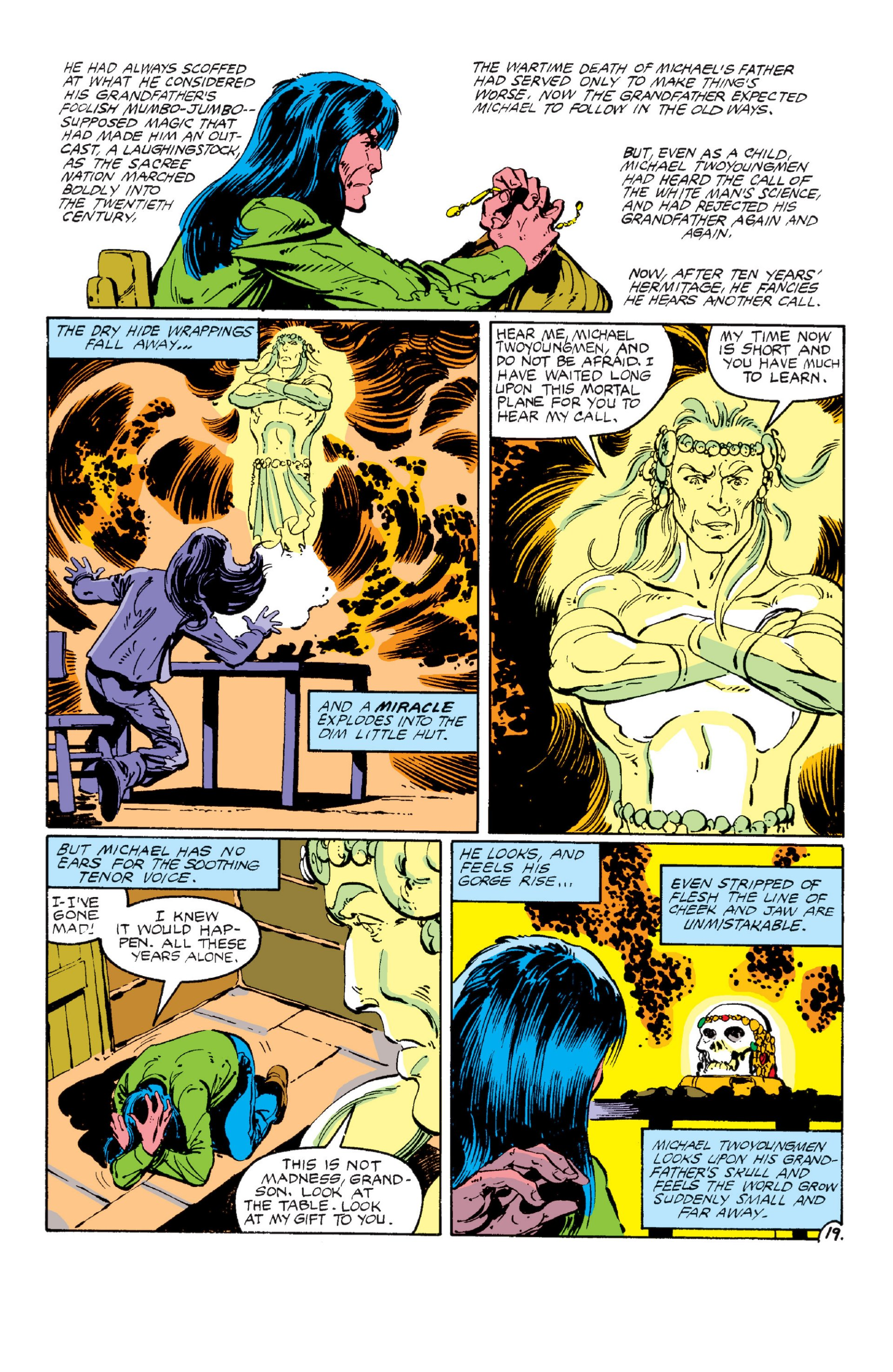 Read online Alpha Flight (1983) comic -  Issue #6 - 19