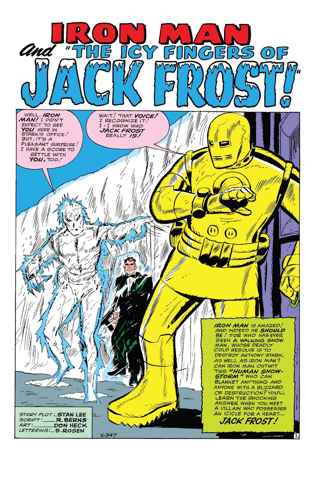 Read online Marvel Tales: Iron Man comic -  Issue # Full - 20