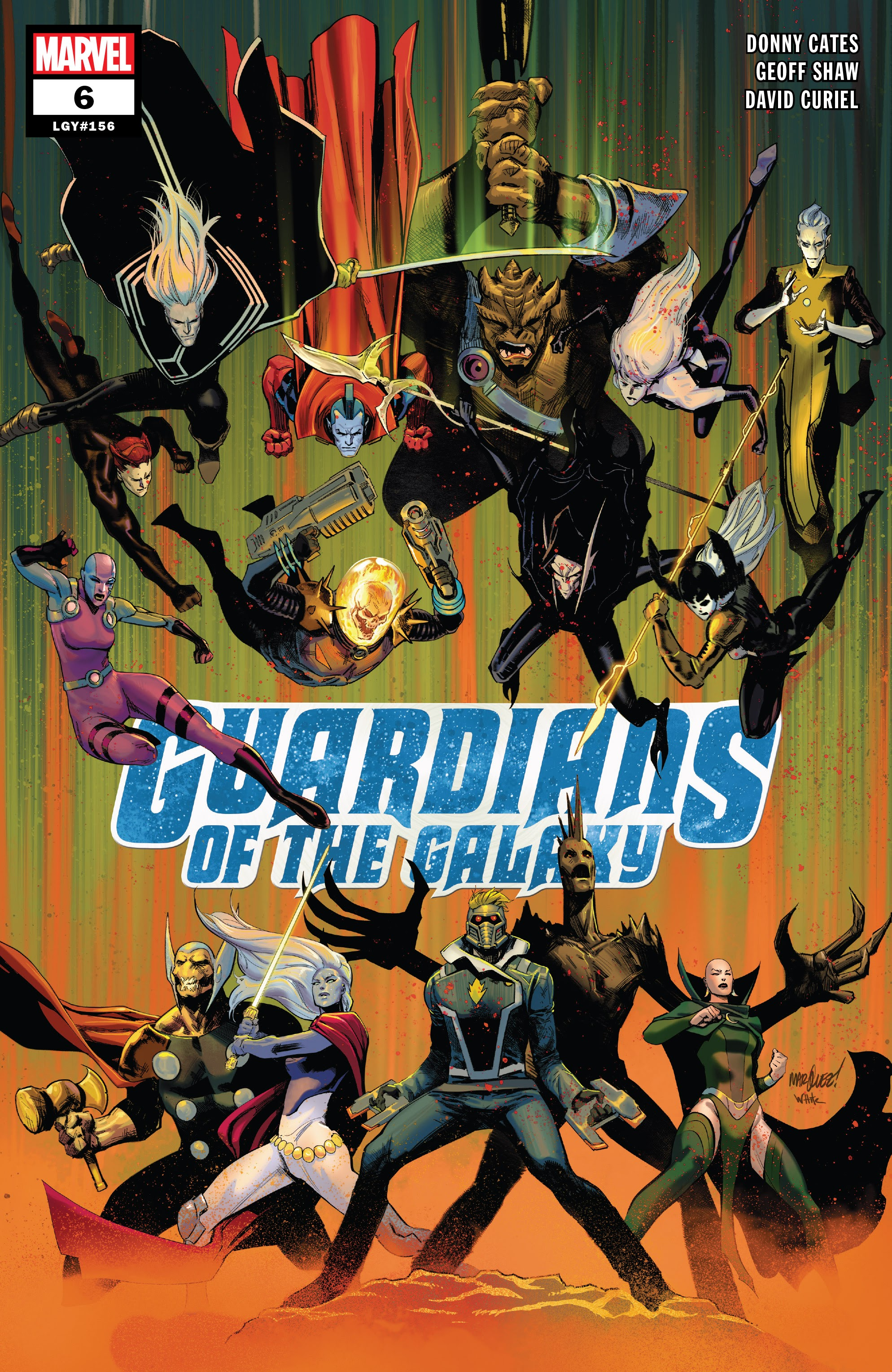 Guardians of the Galaxy (2019) 6 Page 1