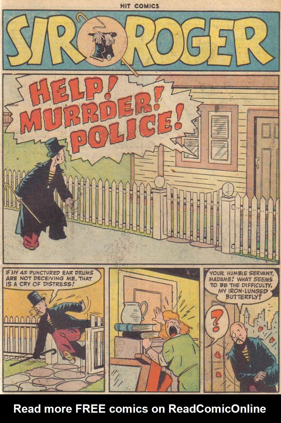 Read online Hit Comics comic -  Issue #45 - 52