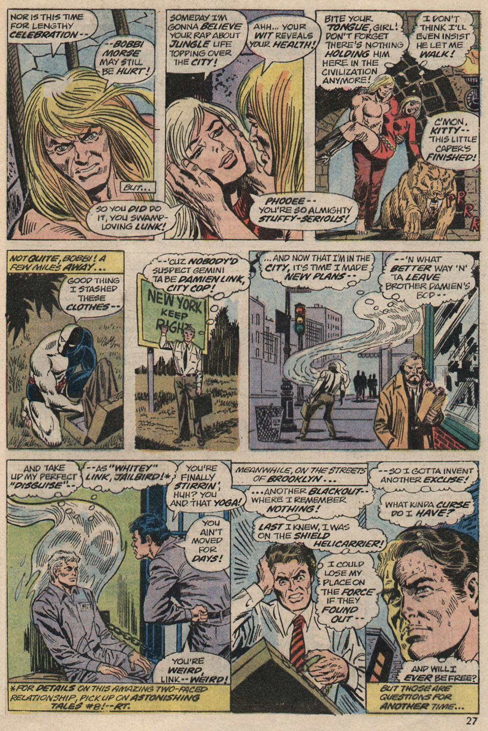 Read online Astonishing Tales (1970) comic -  Issue #20 - 19