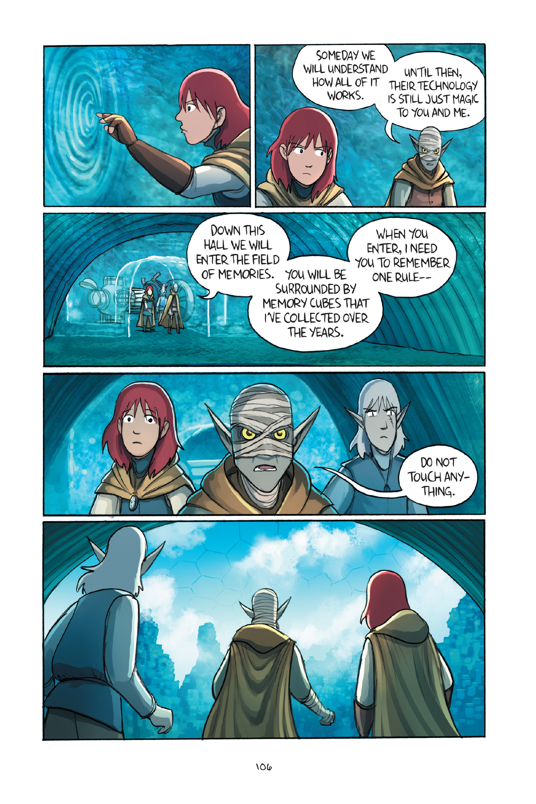 Read online Amulet comic -  Issue #7 - 106