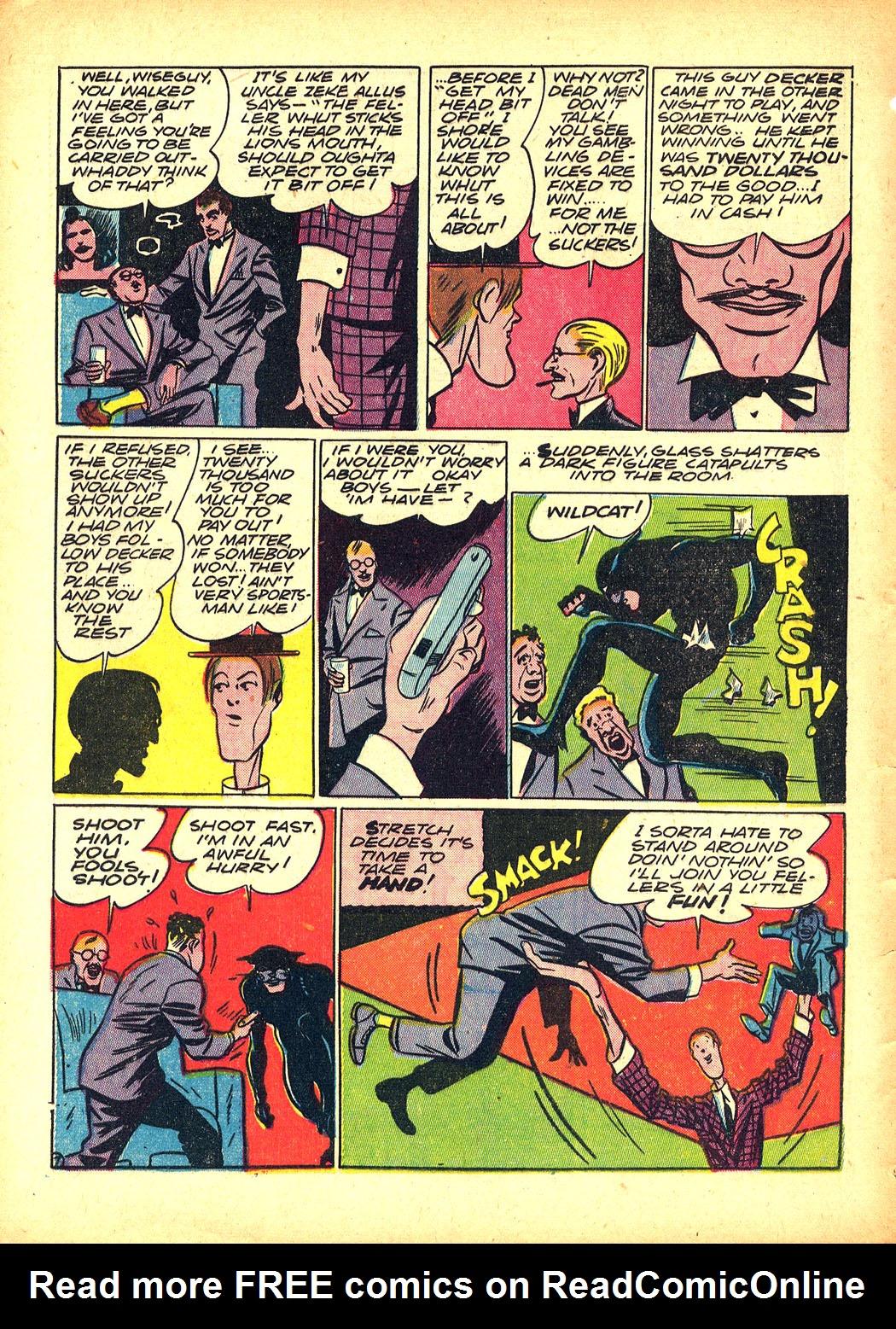 Read online Sensation (Mystery) Comics comic -  Issue #5 - 62