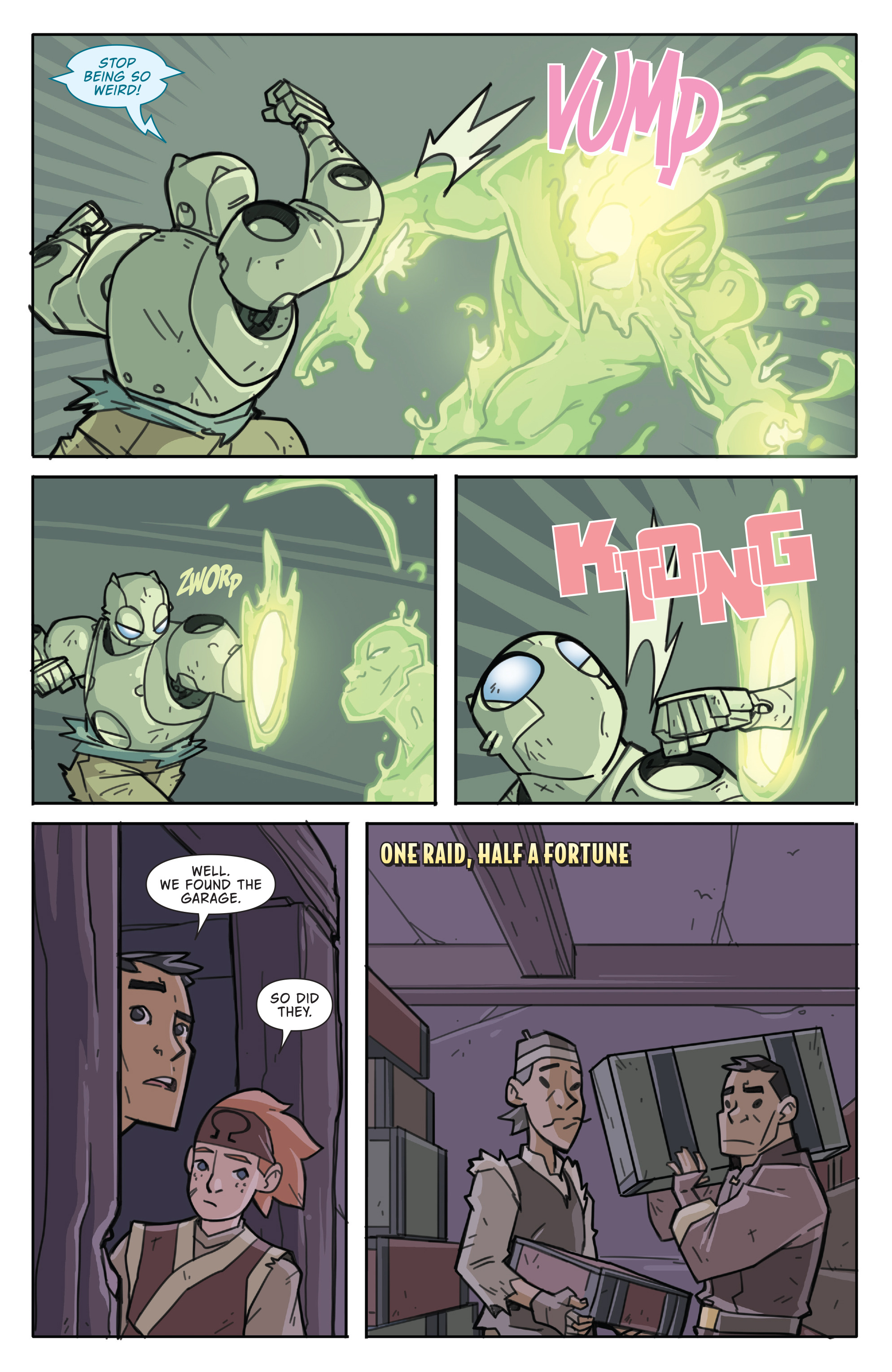 Read online Atomic Robo and the Temple of Od comic -  Issue #5 - 12