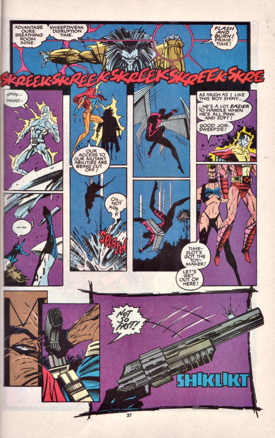 Read online Uncanny X-Men (1963) comic -  Issue # _Annual 16 - 30