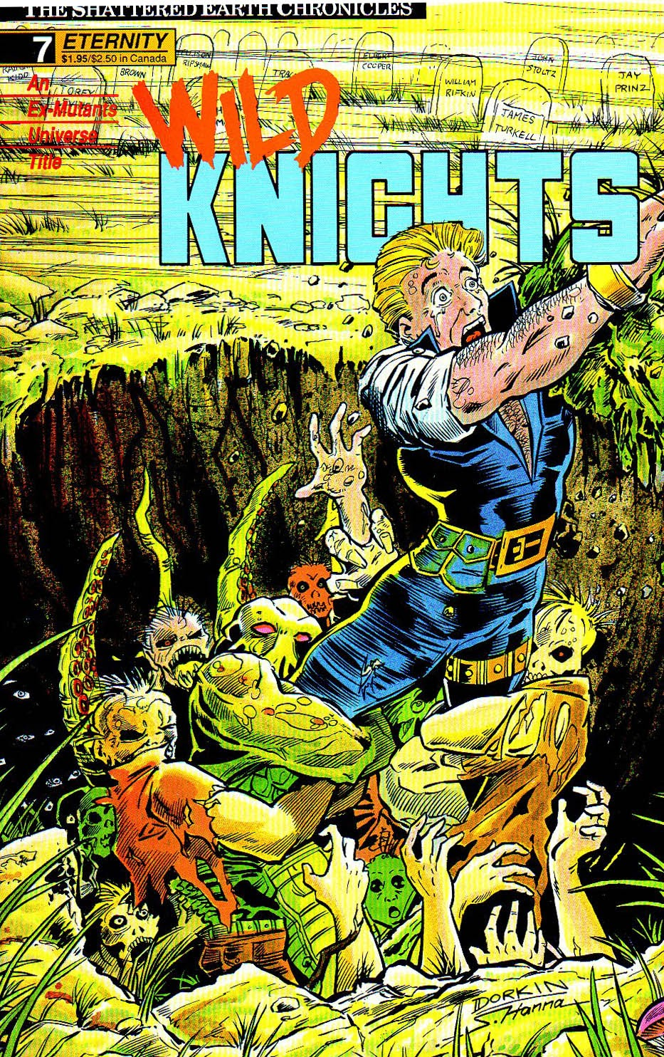 Wild Knights issue 7 - Page 1