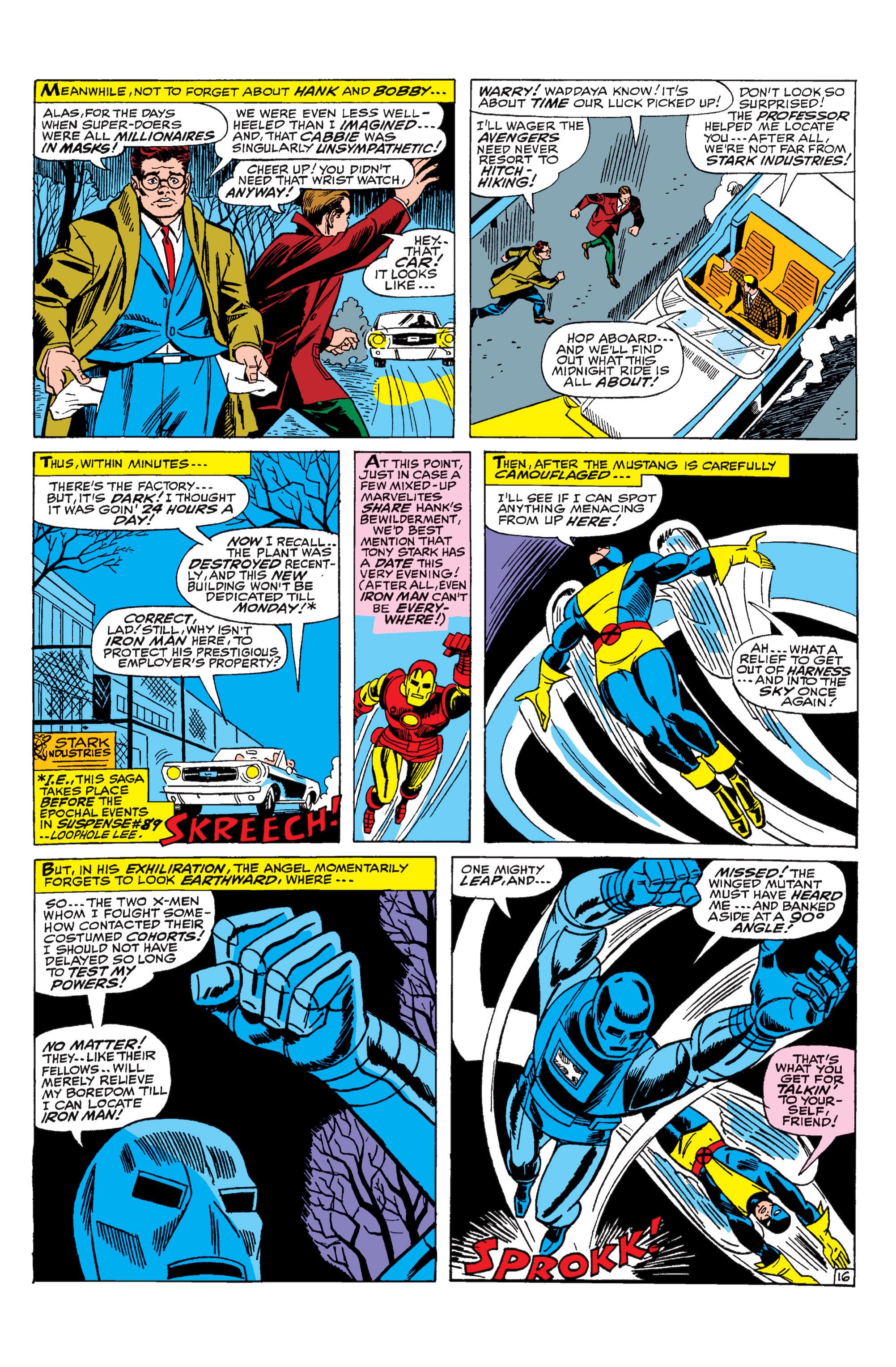 Read online Uncanny X-Men (1963) comic -  Issue #31 - 17