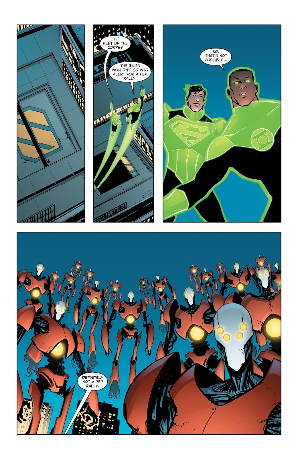 Read online Smallville Season 11 [II] comic -  Issue # TPB 7 - 47