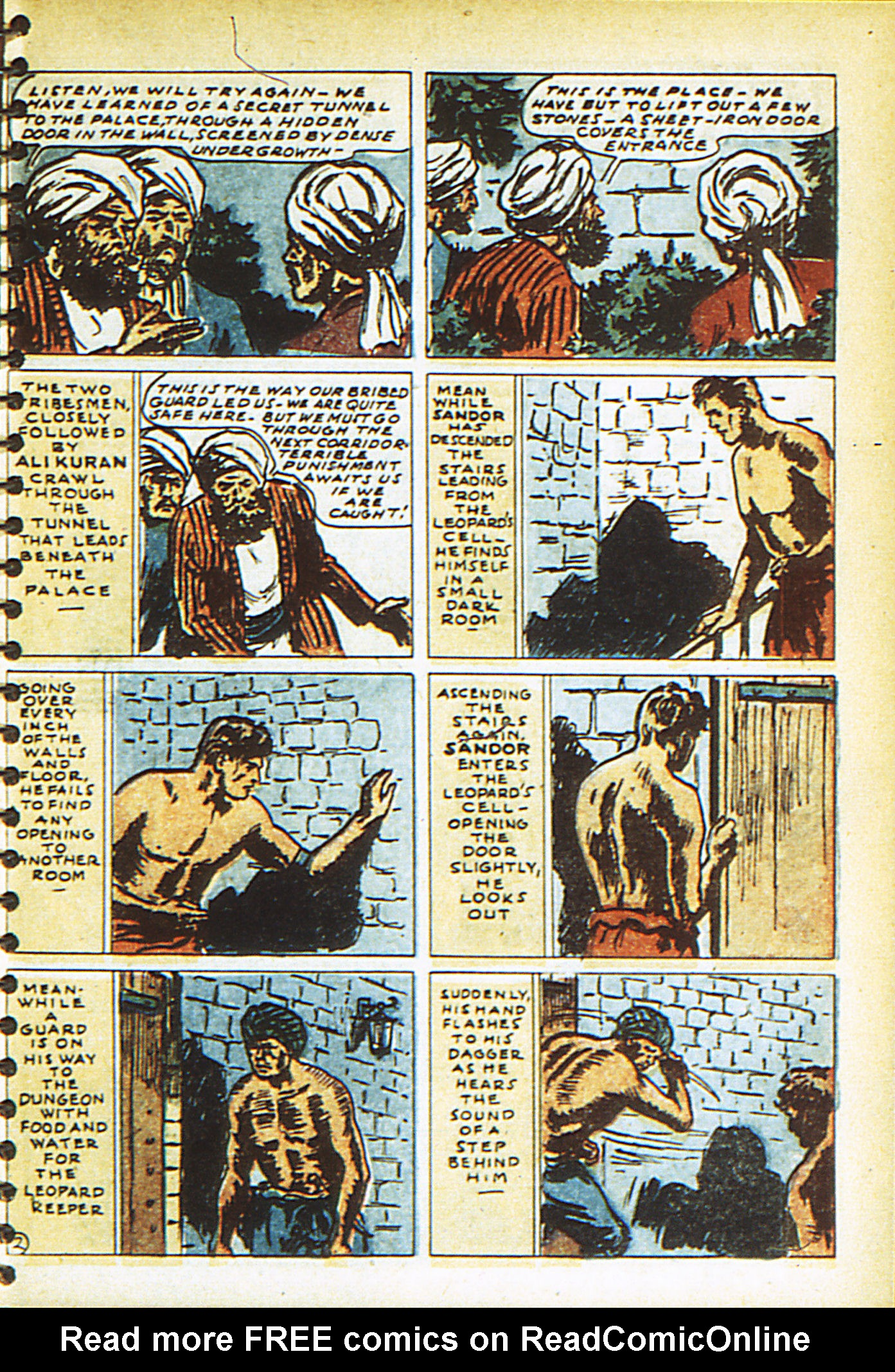 Read online Adventure Comics (1938) comic -  Issue #26 - 60