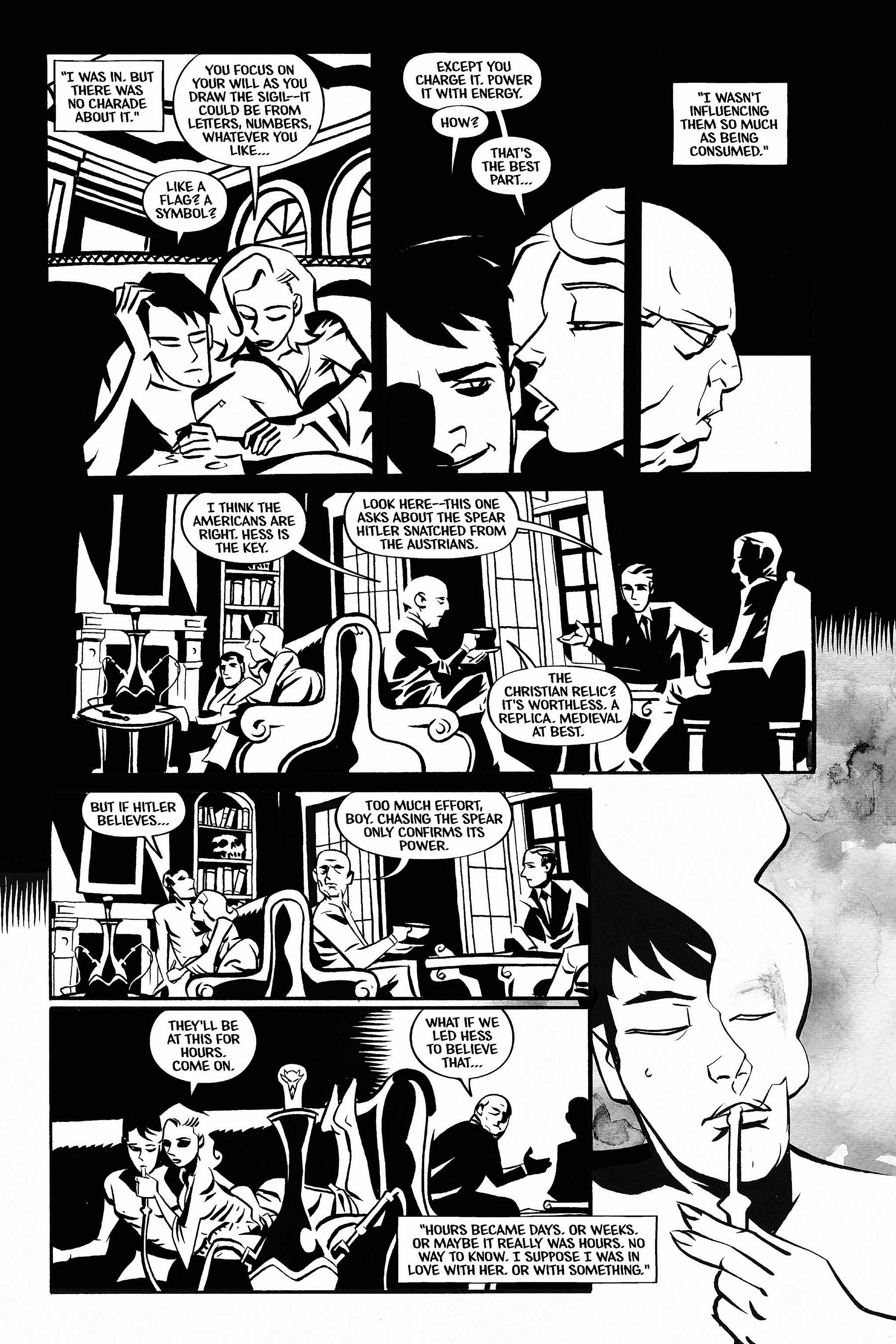 Read online Aleister & Adolf comic -  Issue # TPB - 37