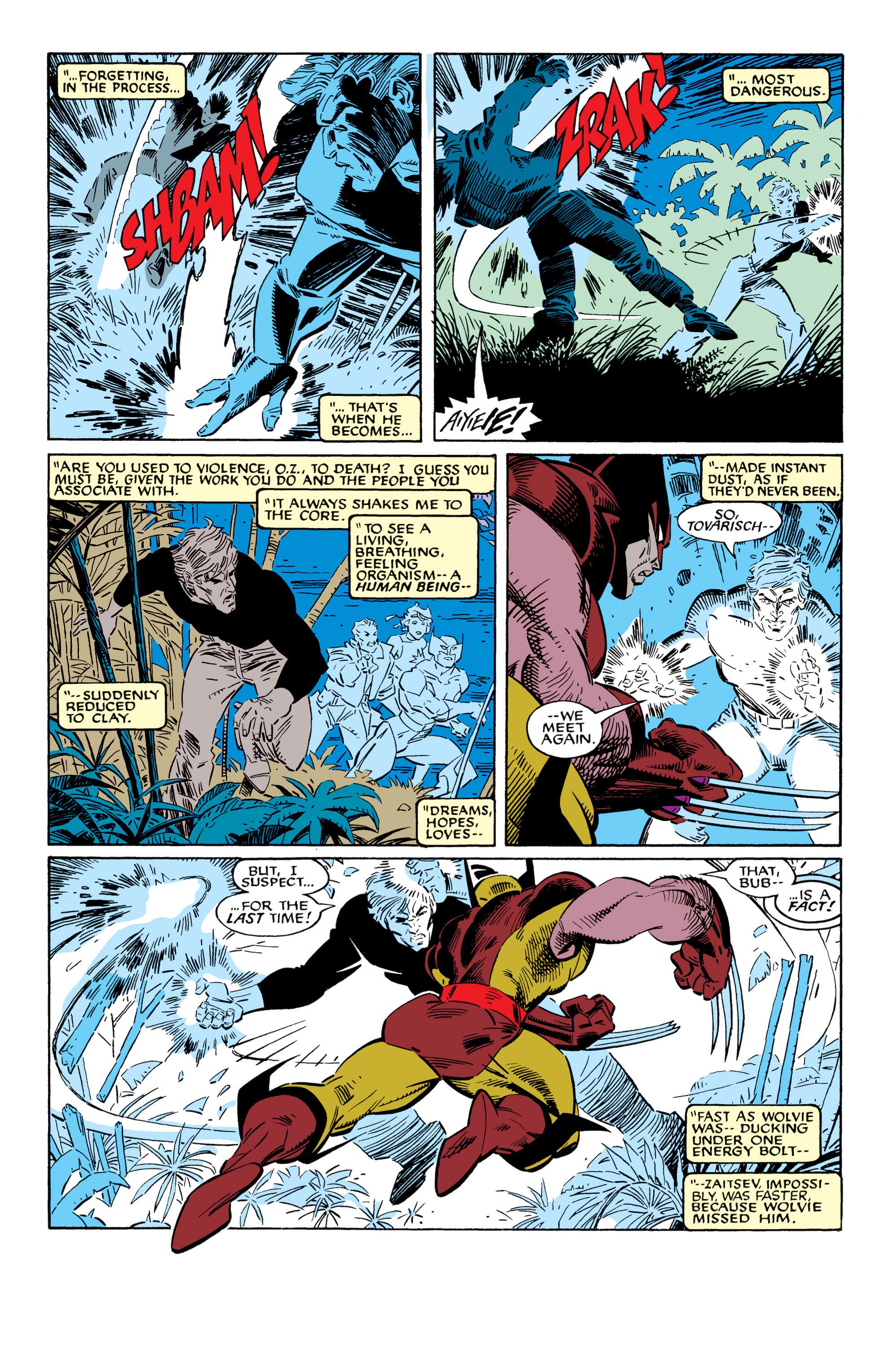 Read online Uncanny X-Men (1963) comic -  Issue #228 - 20