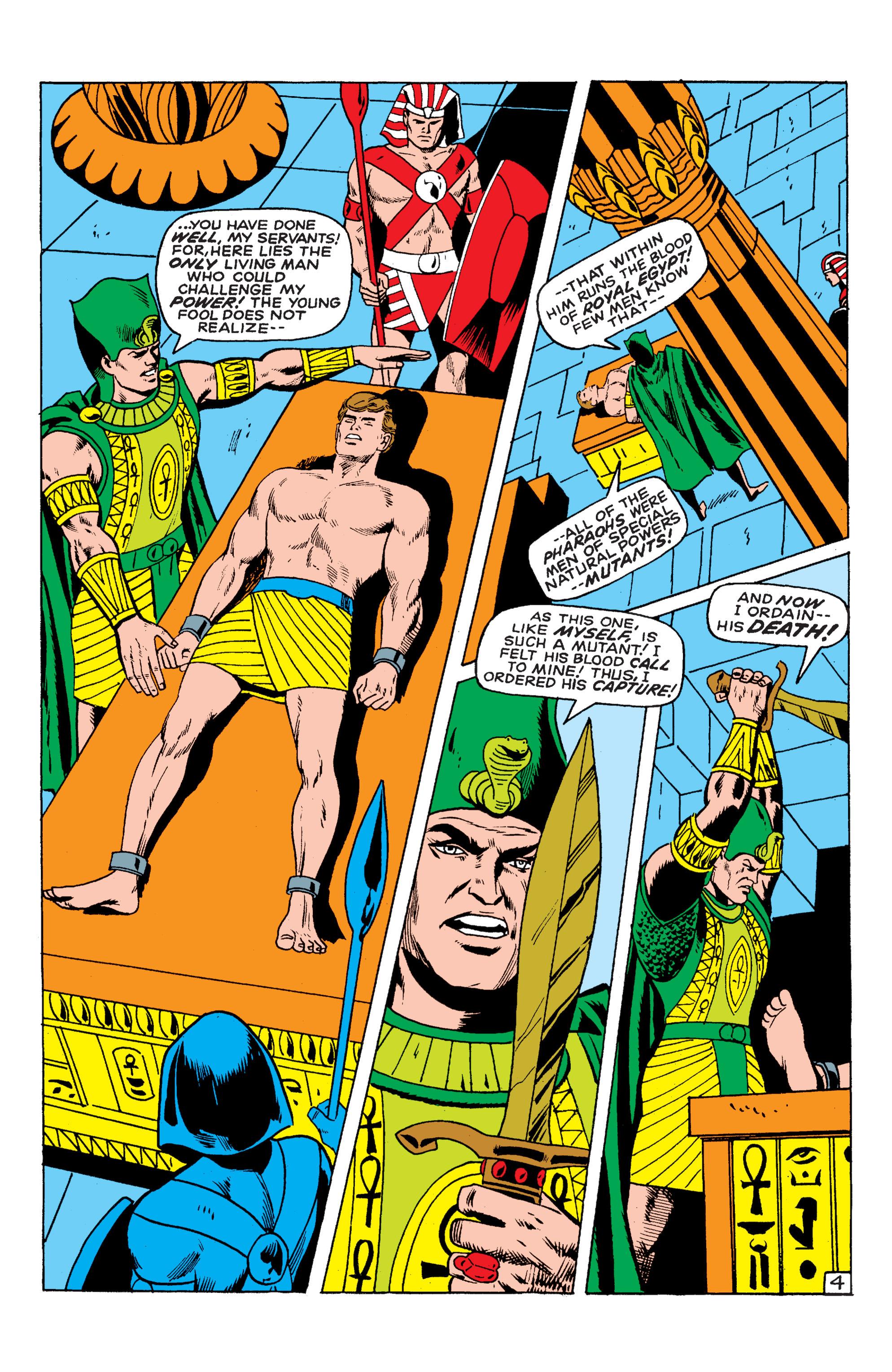 Read online Uncanny X-Men (1963) comic -  Issue #54 - 5