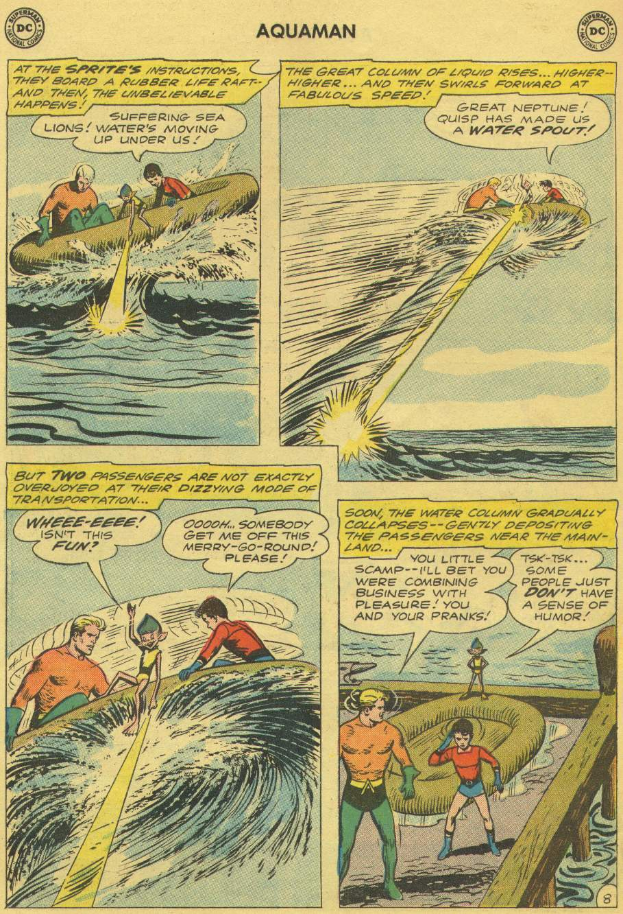 Read online Aquaman (1962) comic -  Issue #1 - 10