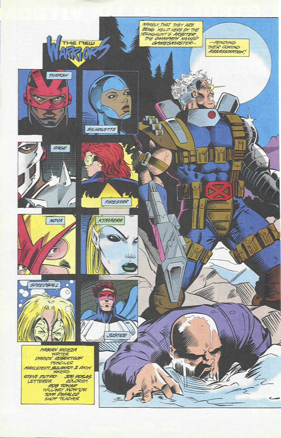 The New Warriors Issue #46 #50 - English 3