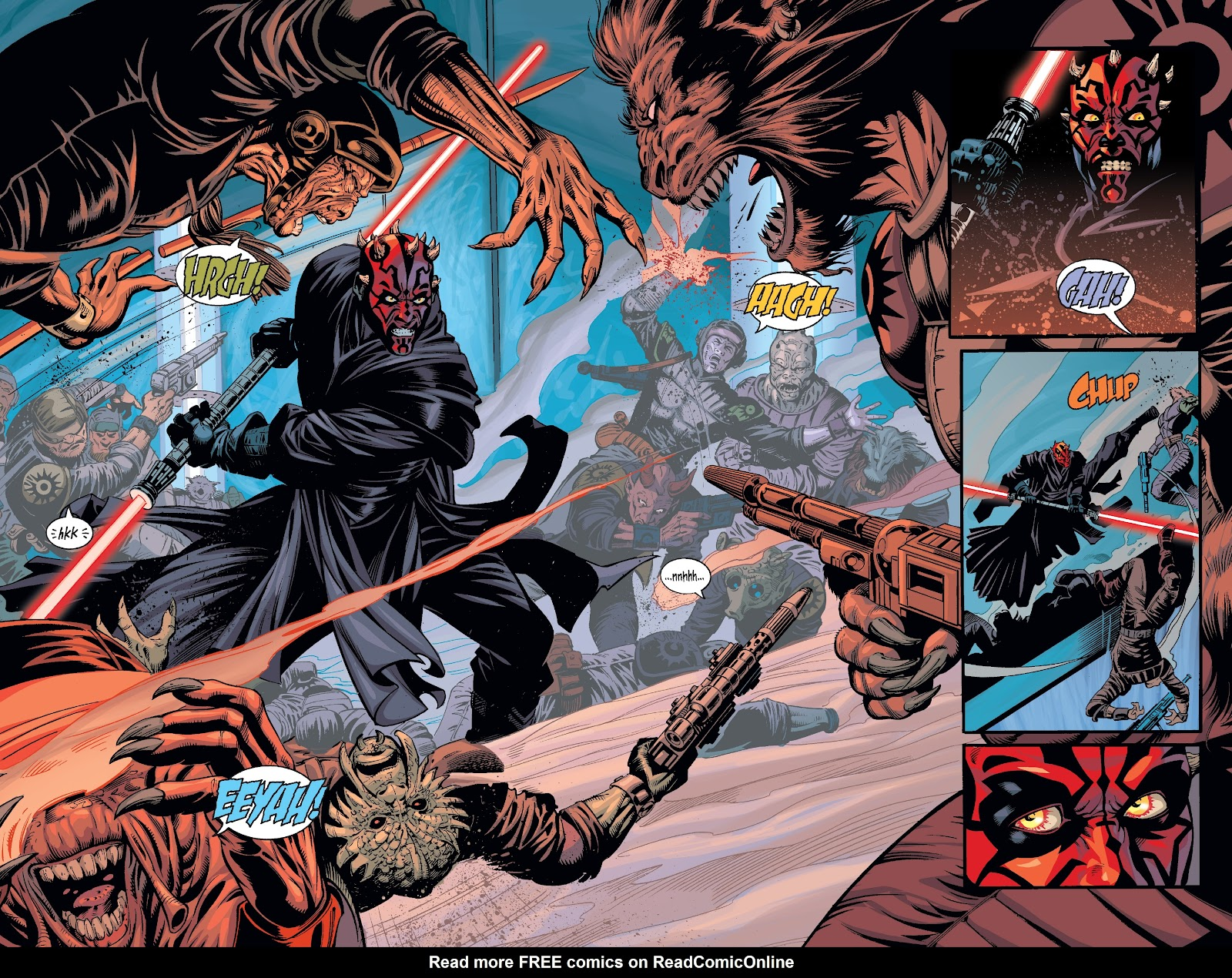 Read online Star Wars Legends: Rise of the Sith - Epic Collection comic -  Issue # TPB 2 (Part 3) - 2
