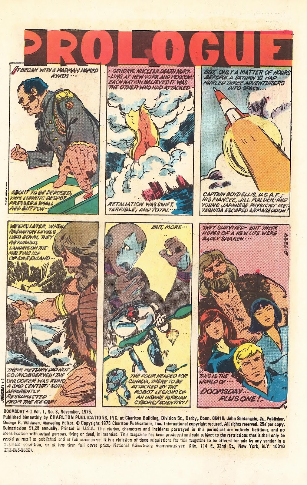 Read online Doomsday   1 (1975) comic -  Issue #3 - 3