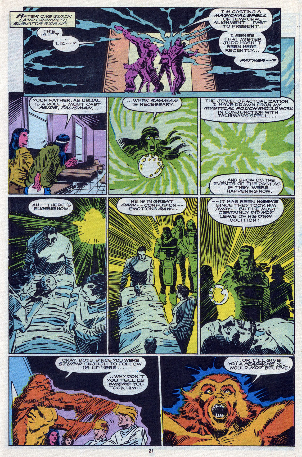 Read online Alpha Flight (1983) comic -  Issue #87 - 22