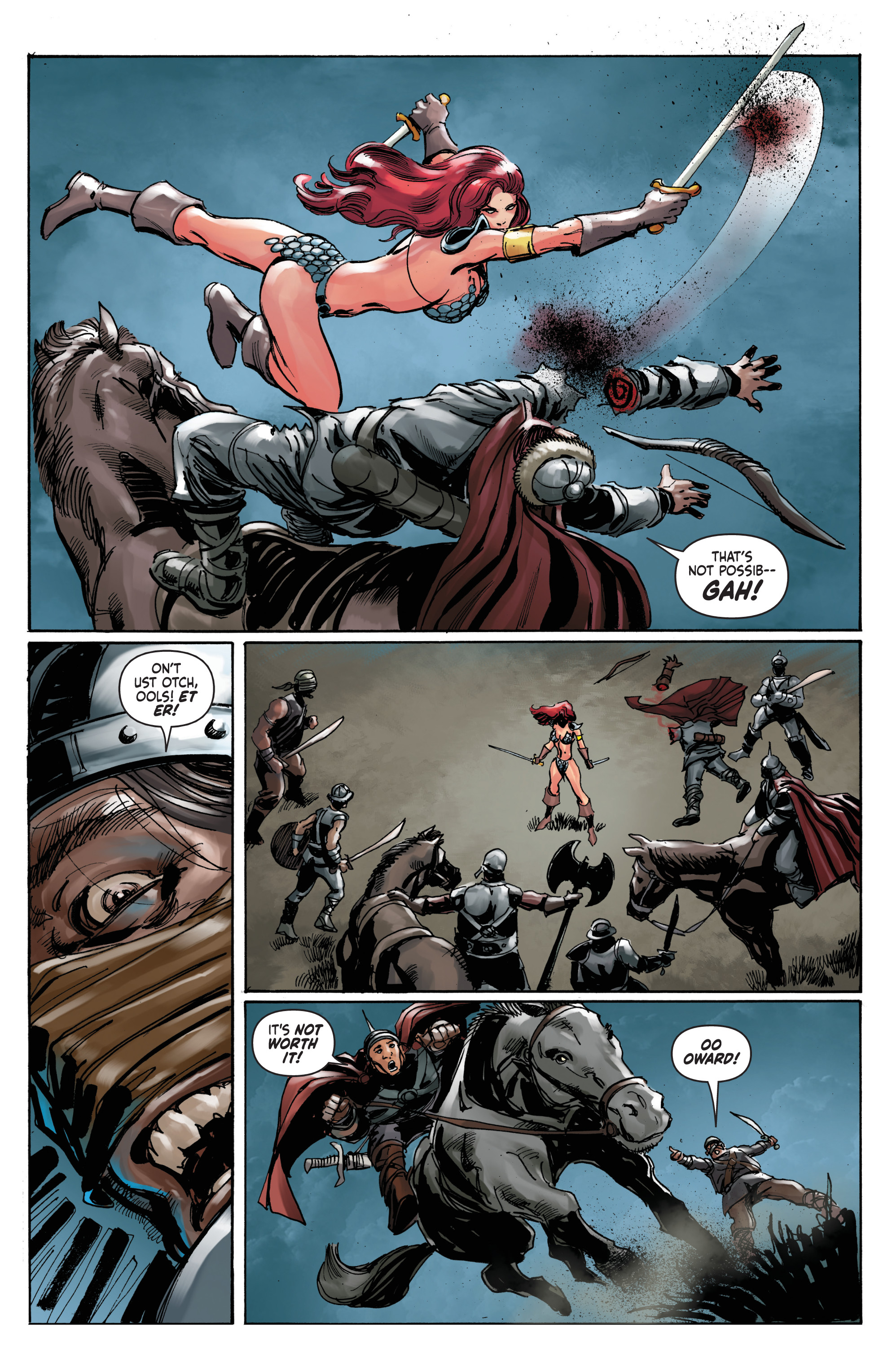 Read online Red Sonja: The Long Walk To Oblivion comic -  Issue # Full - 15