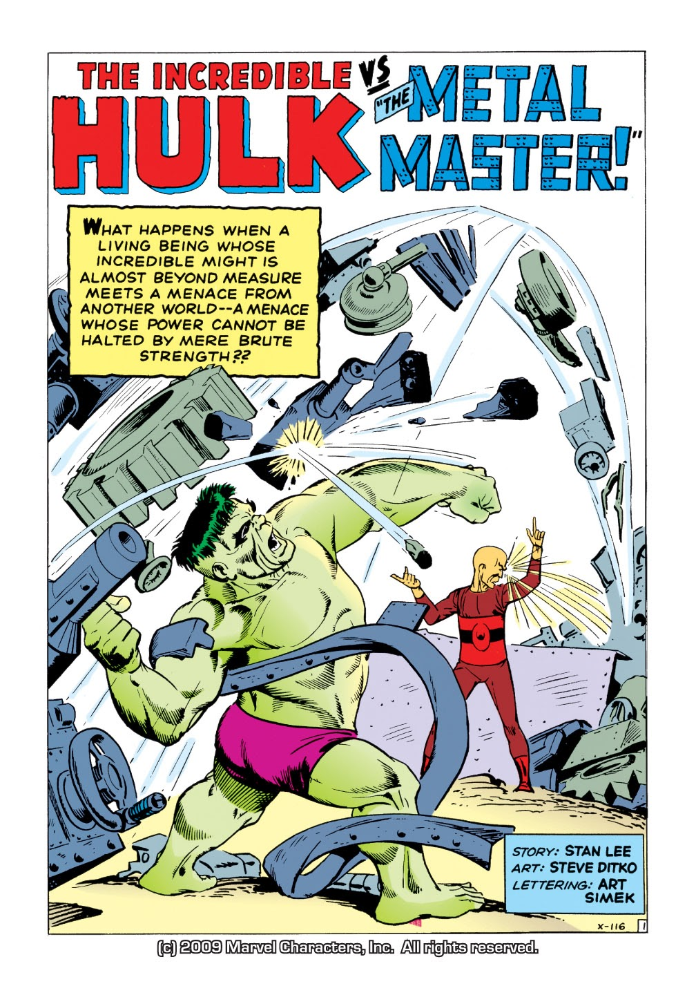Read online Marvel Masterworks: The Incredible Hulk comic -  Issue # TPB 1 (Part 2) - 30