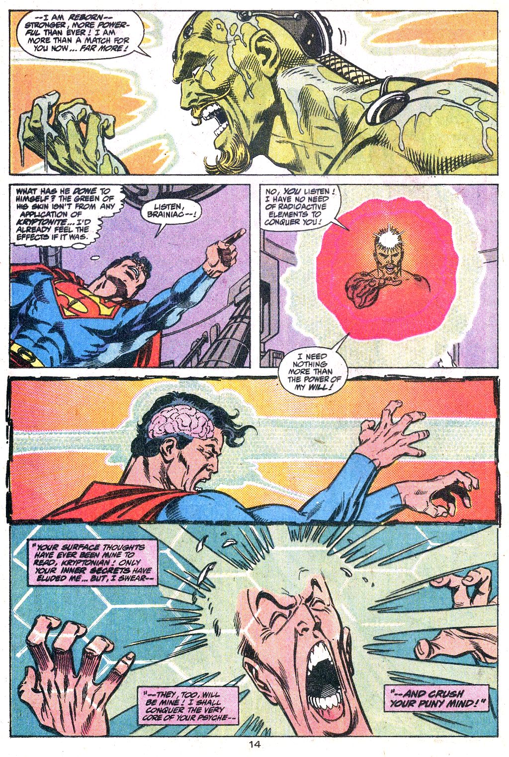 Read online Action Comics (1938) comic -  Issue #649 - 15