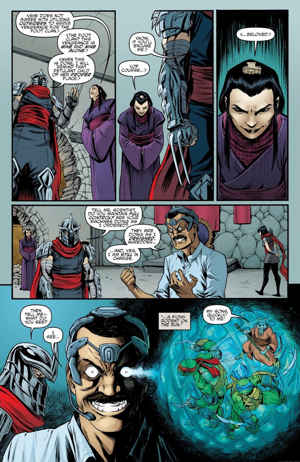 Read online Teenage Mutant Ninja Turtles: The IDW Collection comic -  Issue # TPB 6 (Part 3) - 5