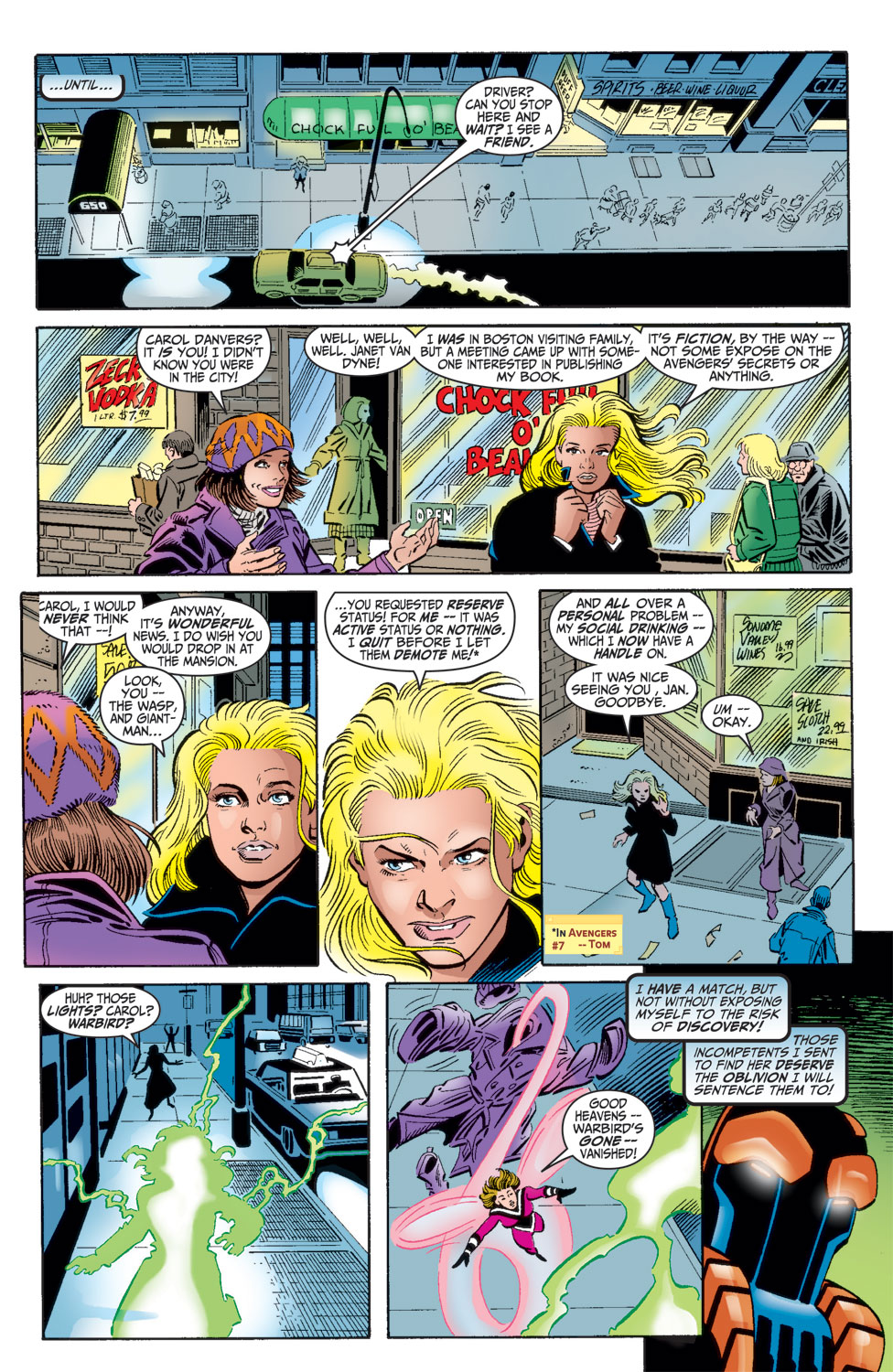 Read online Avengers (1998) comic -  Issue #16 - 22