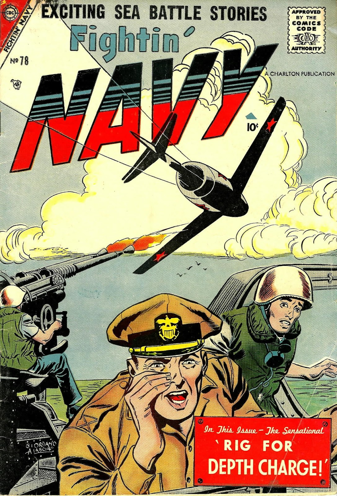 Read online Fightin' Navy comic -  Issue #78 - 1