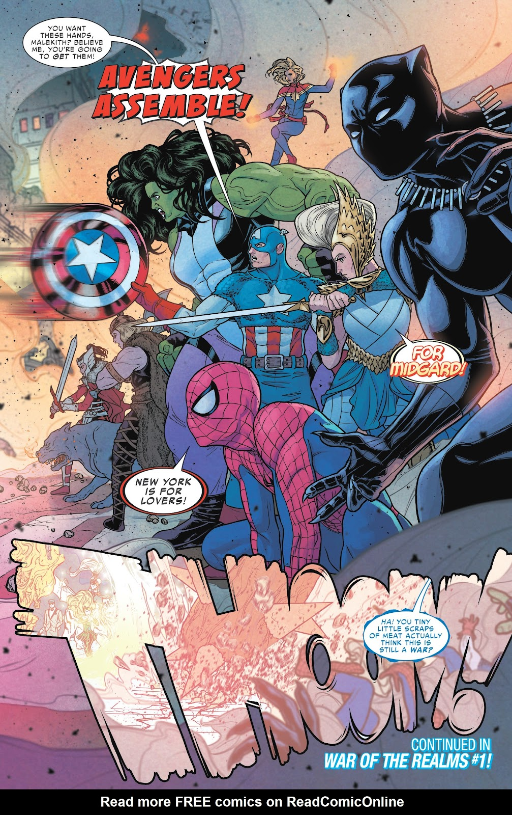 Read online Avengers Start Here Sampler 2019 comic -  Issue # Full - 21