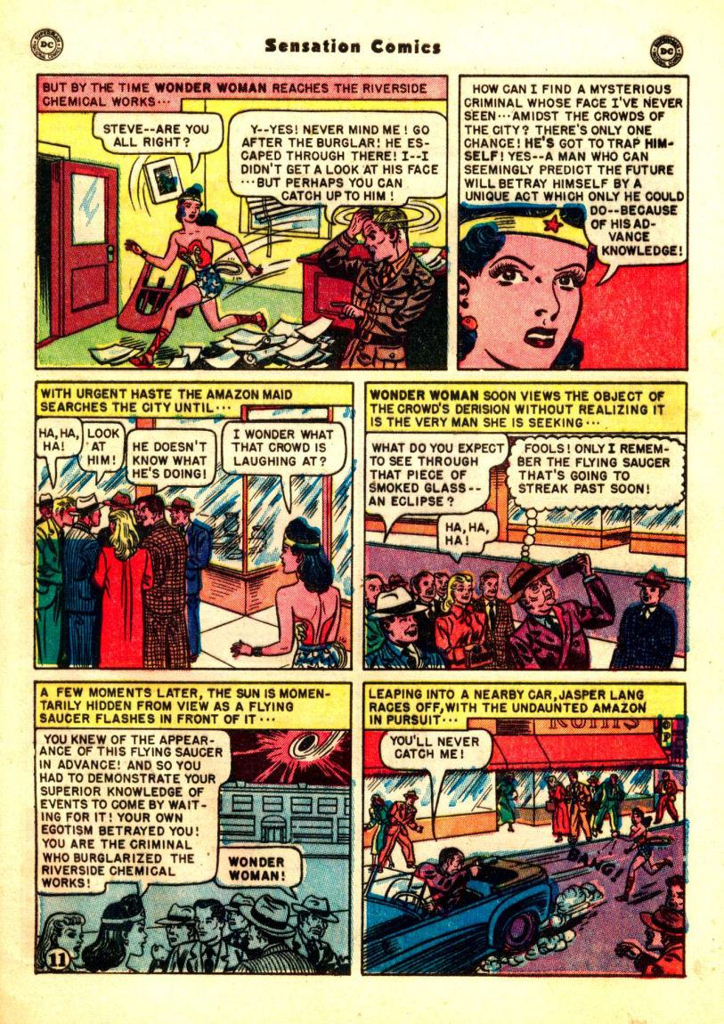 Read online Sensation (Mystery) Comics comic -  Issue #99 - 13