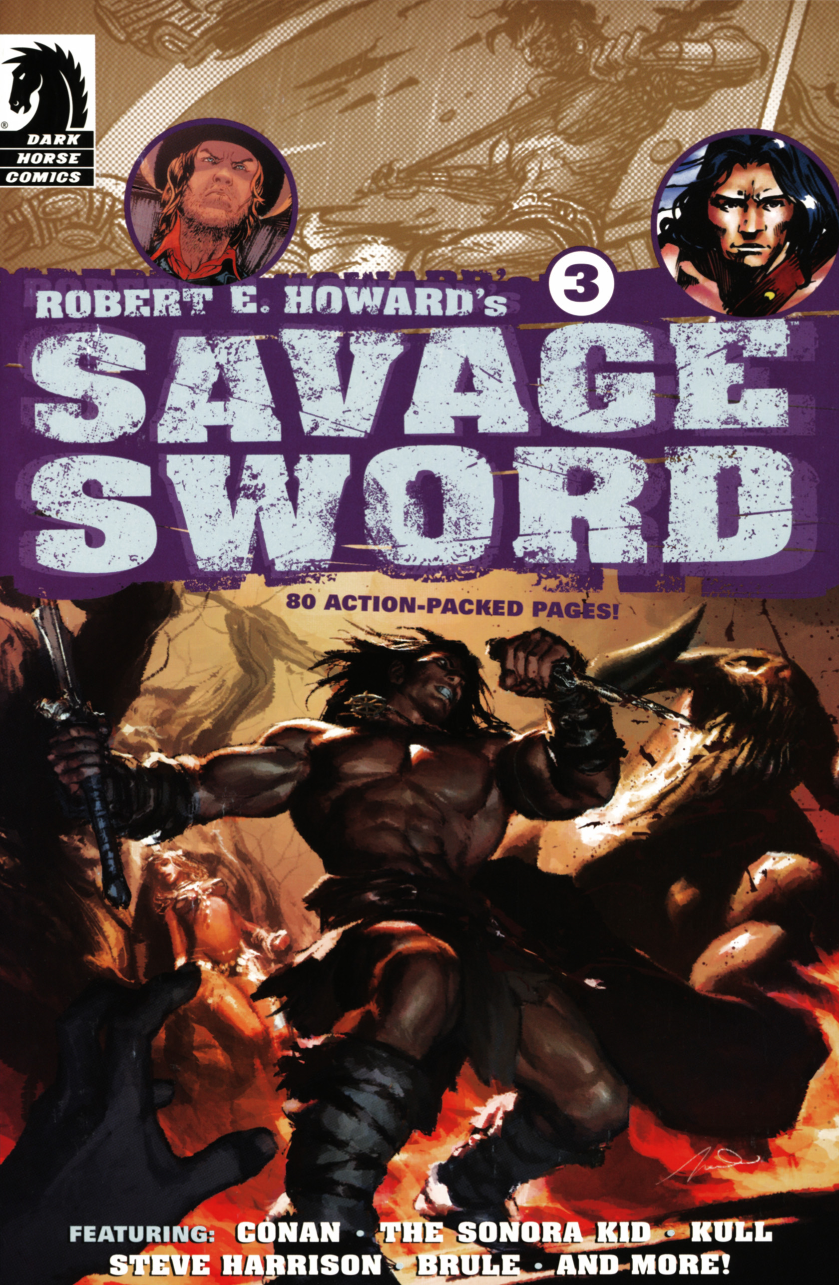 Robert E. Howards Savage Sword 3 Page 1