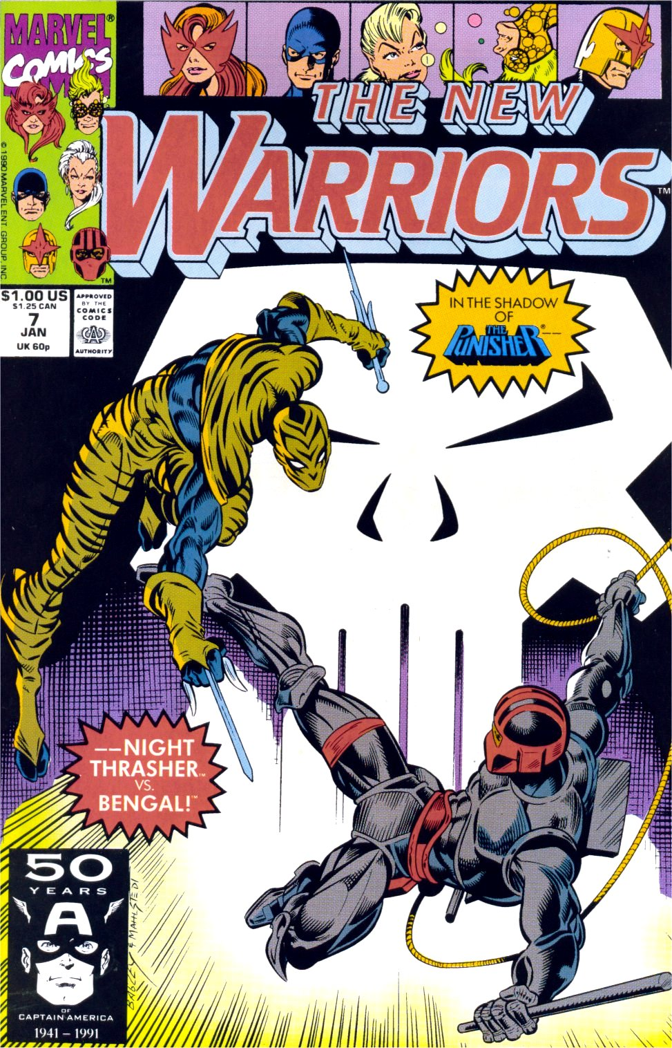 The New Warriors Issue #7 #11 - English 1