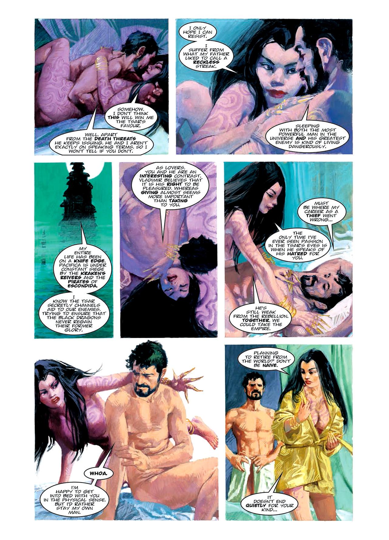 Read online Nikolai Dante comic -  Issue # TPB 6 - 112