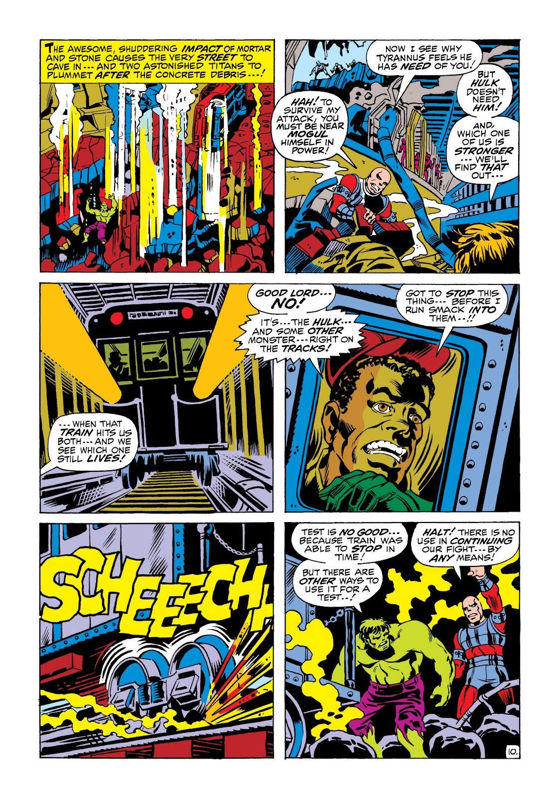 Read online Marvel Masterworks: The Incredible Hulk comic -  Issue # TPB 6 (Part 2) - 24