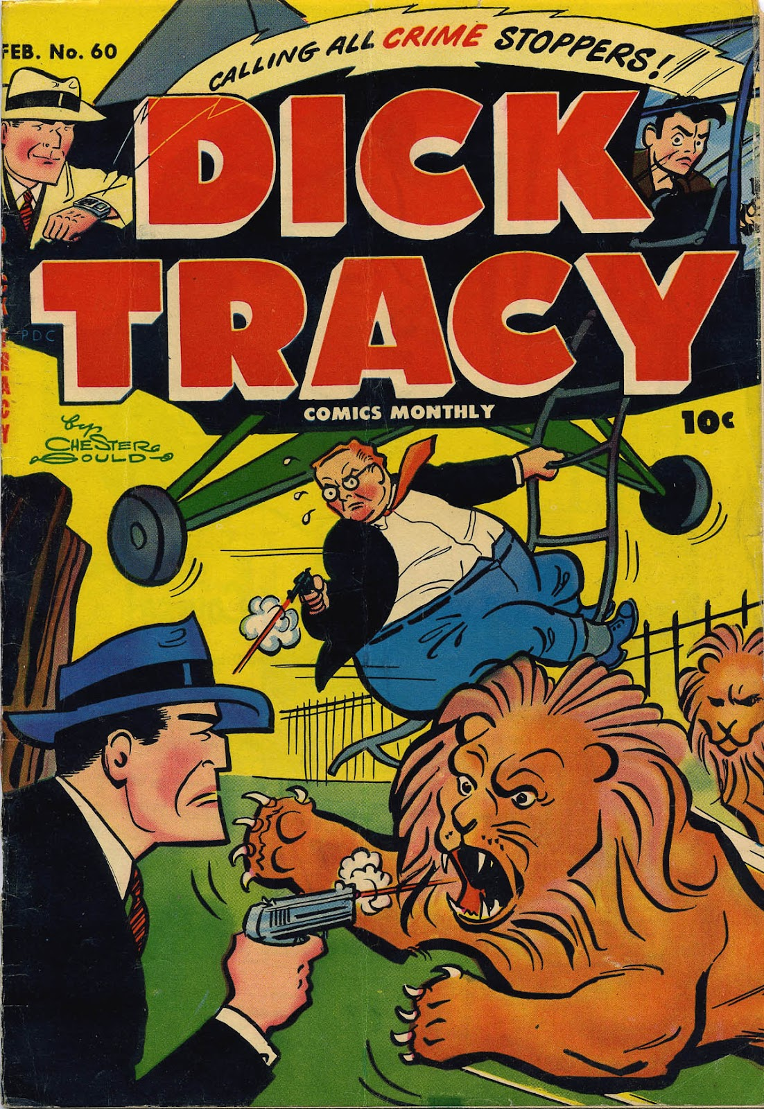 Dick Tracy (1950) 60 Page 1