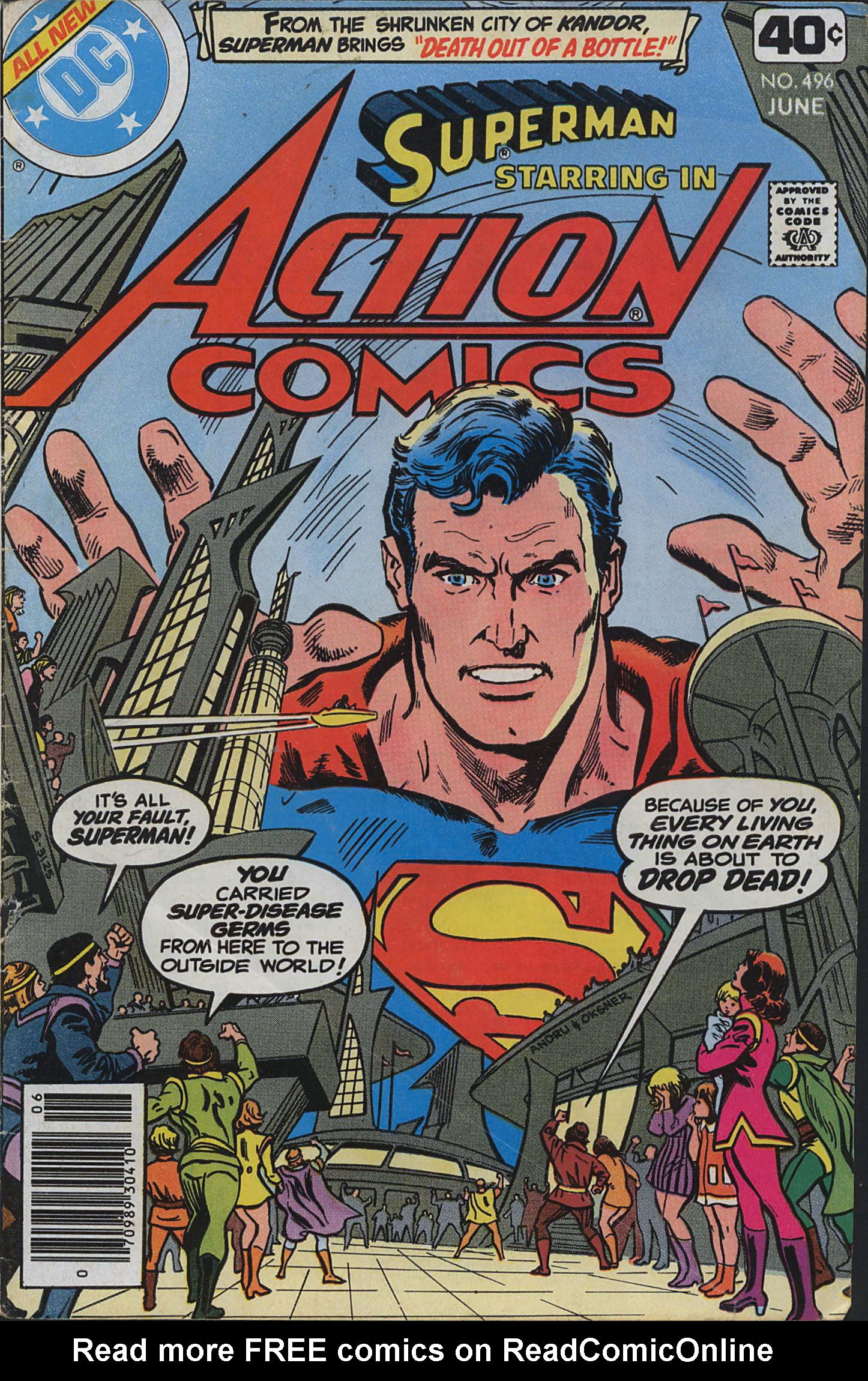 Read online Action Comics (1938) comic -  Issue #496 - 1