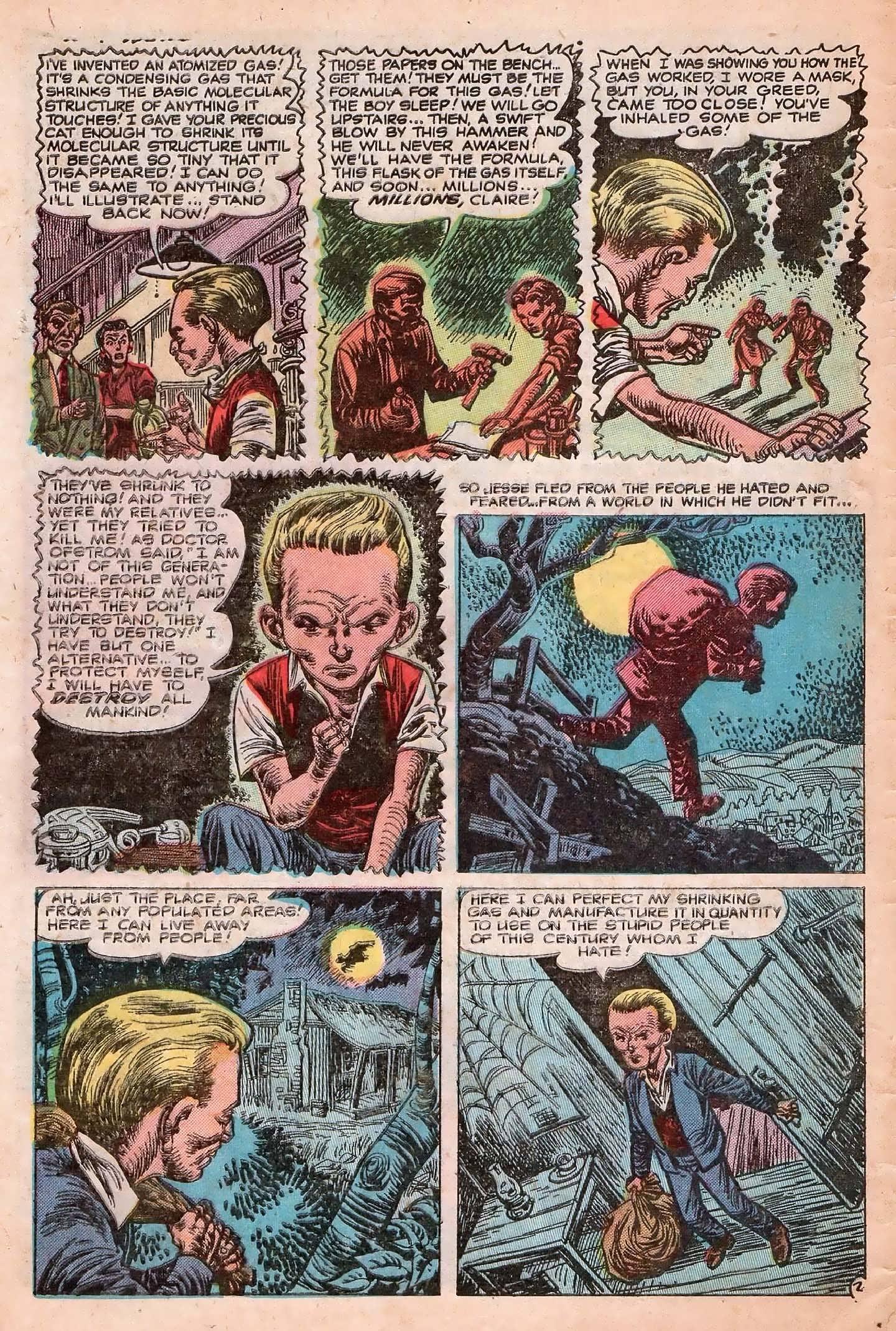 Read online Adventures into Weird Worlds comic -  Issue #20 - 4