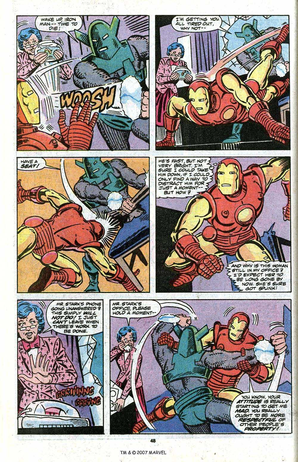 Iron Man Annual issue 11 - Page 50