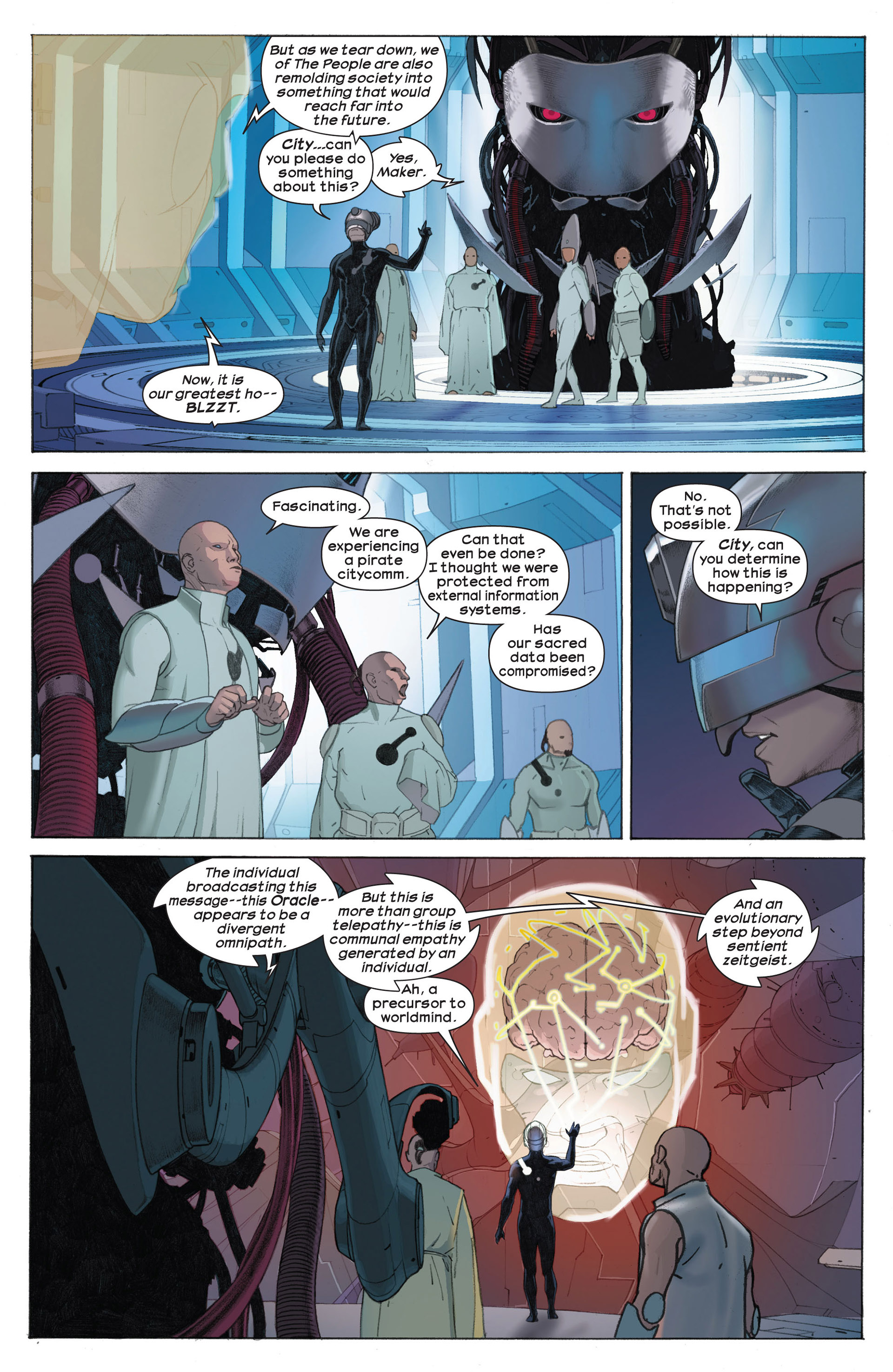 Read online Ultimate Comics Ultimates comic -  Issue #7 - 12