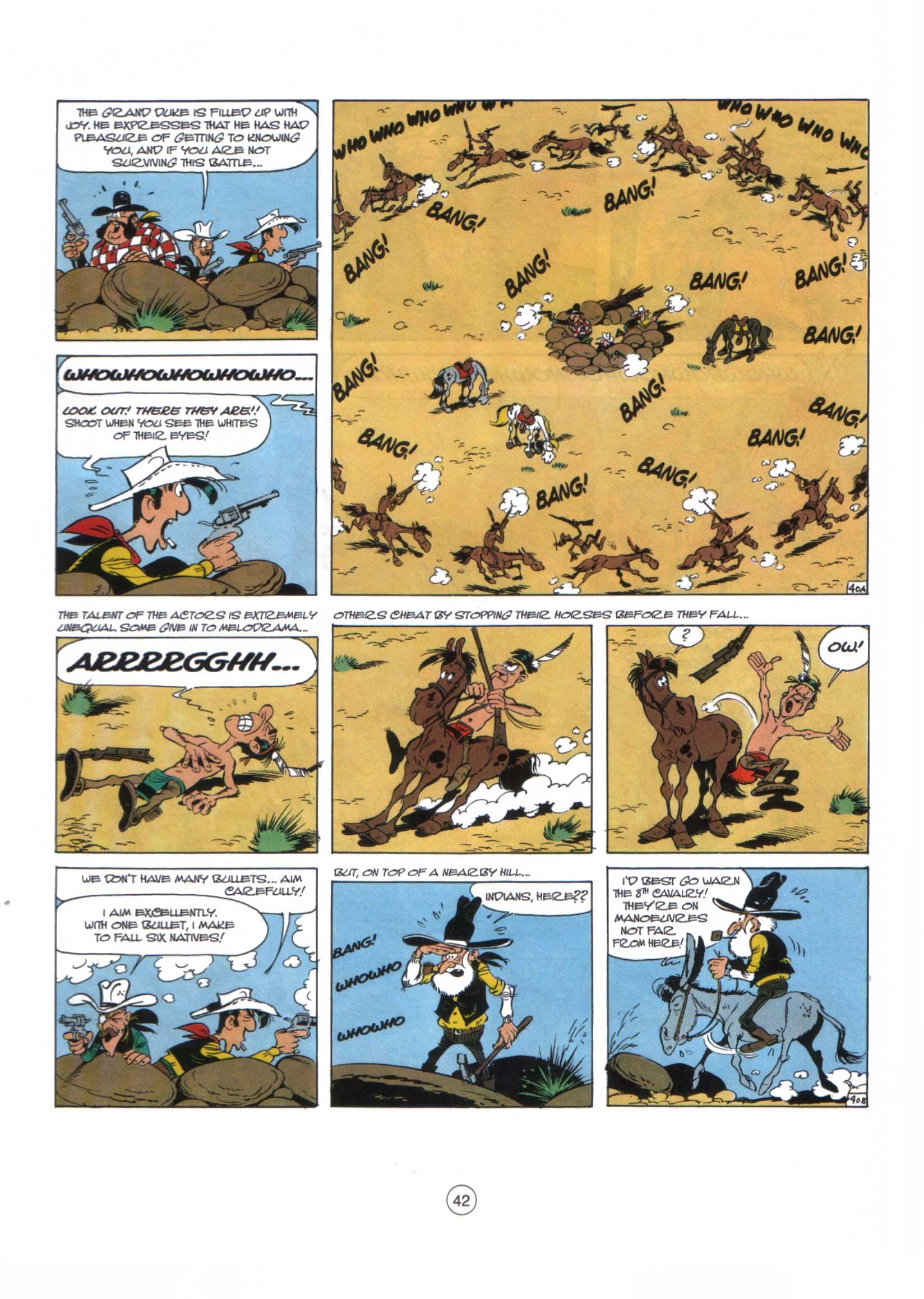 Read online A Lucky Luke Adventure comic -  Issue #29 - 41