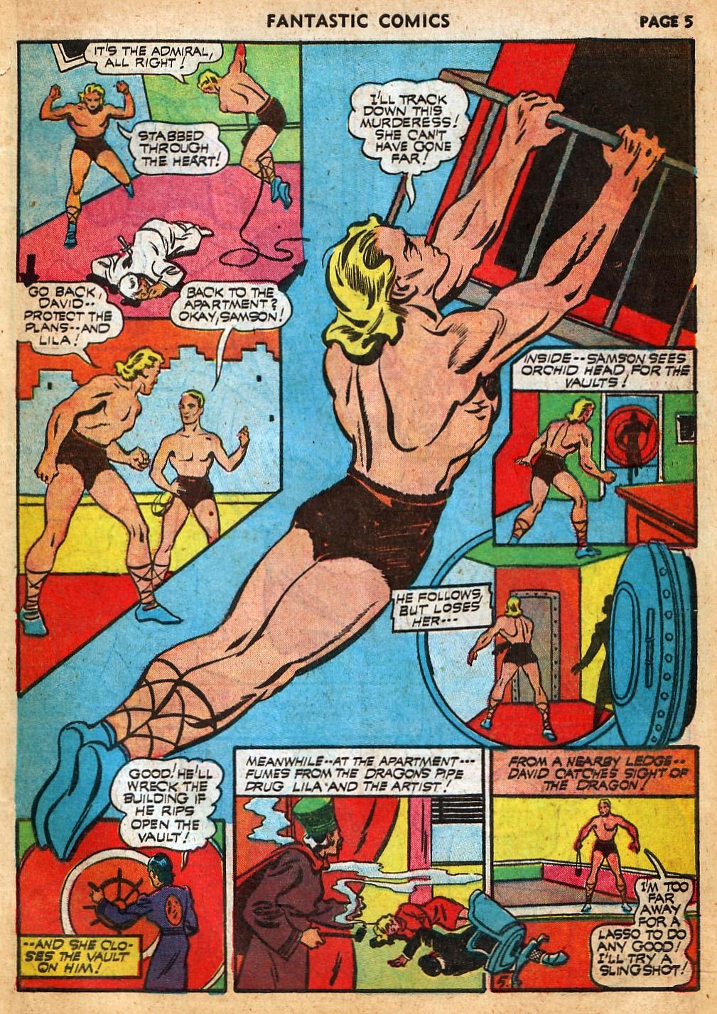 Read online Fantastic Comics comic -  Issue #22 - 7