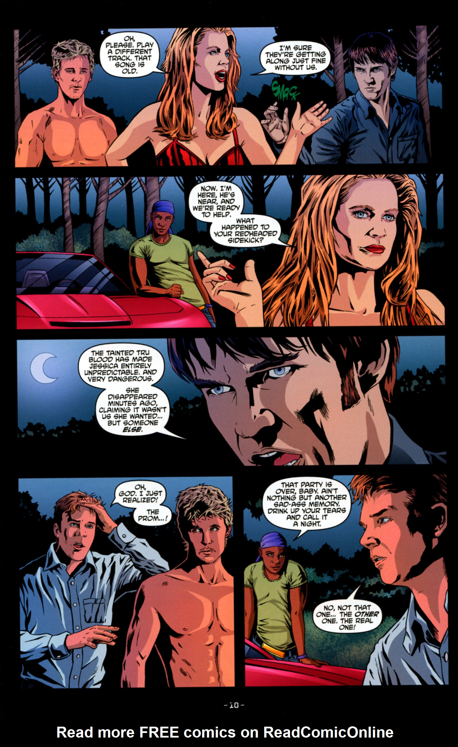 Read online True Blood: Tainted Love comic -  Issue #4 - 12